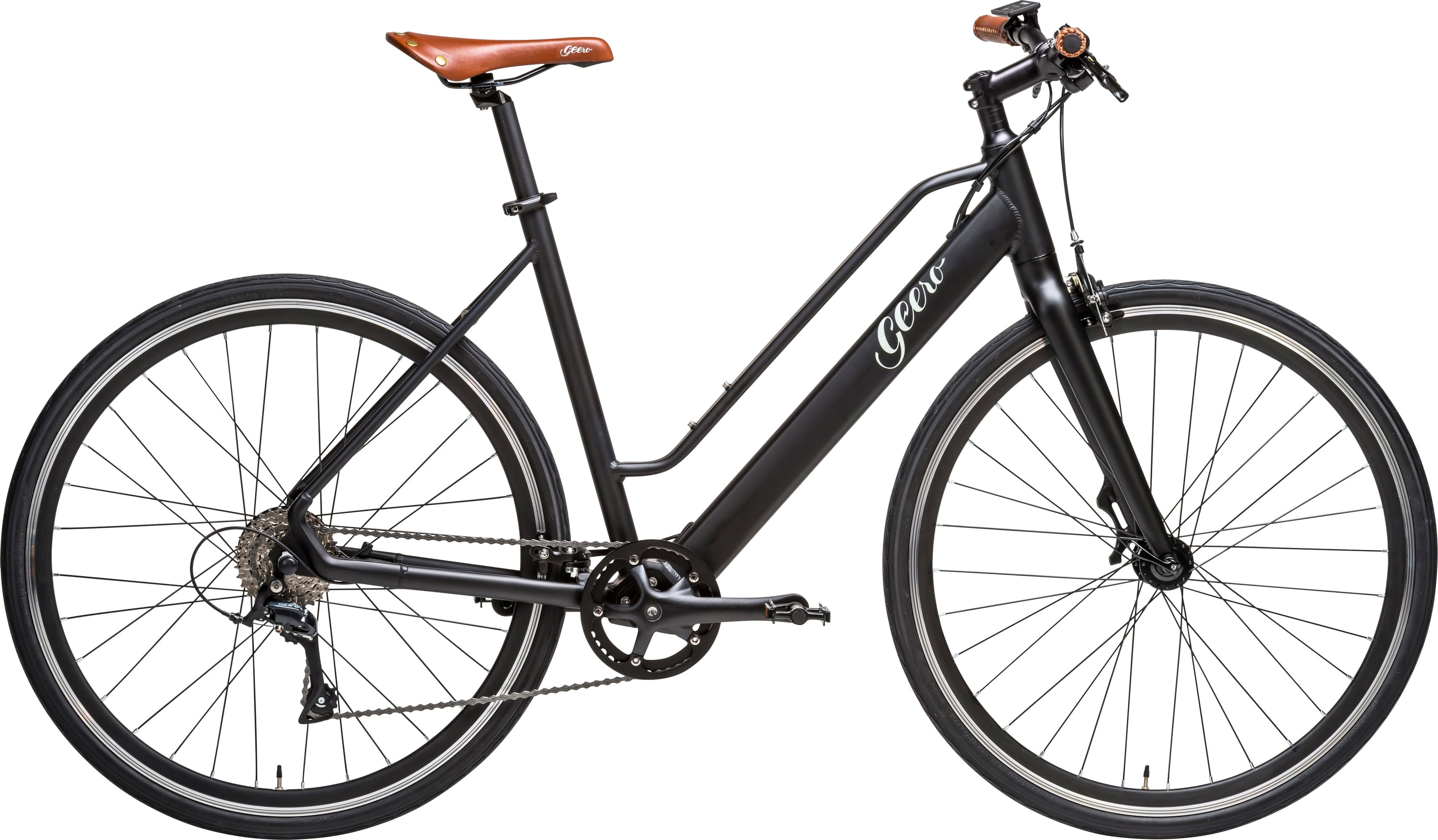 "Geero E-Bike ""Vintage Vinyl Black"" - Geero E-Bike Online Shop Europe"