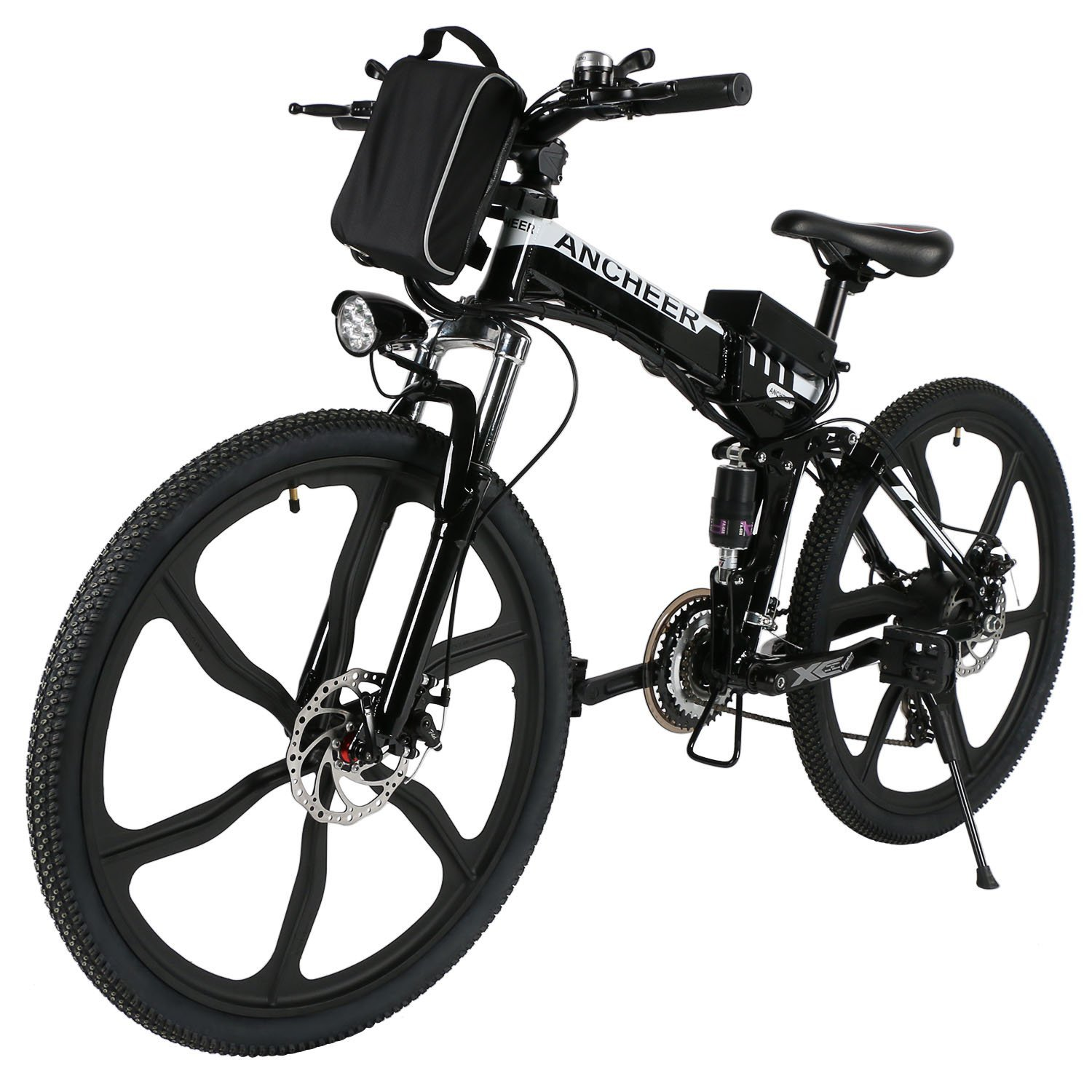 Amazon.com : ANCHEER Folding Electric Mountain Bike with 26