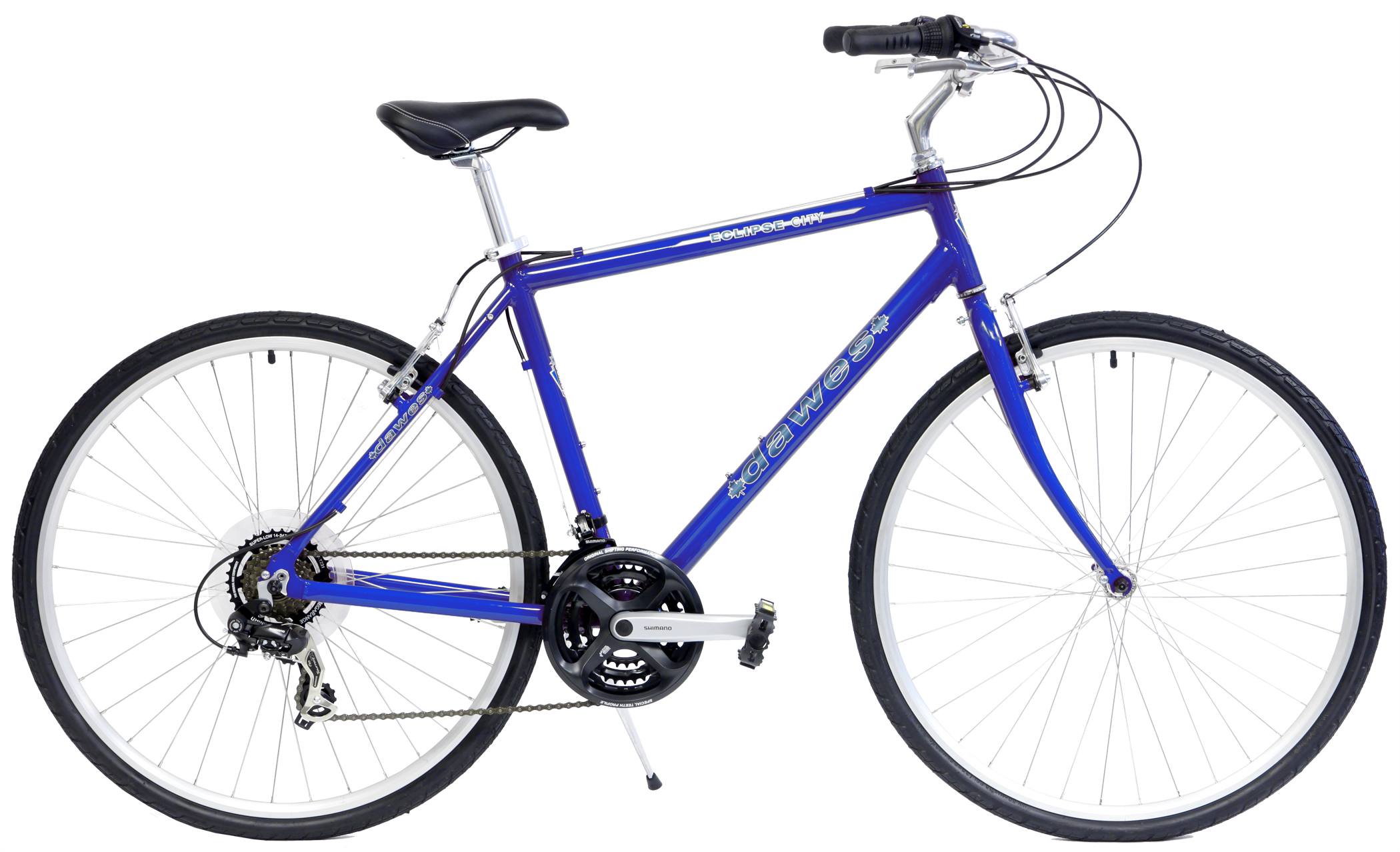 Save up to 60% off new Hybrid Flat Bar Road Bikes - Dawes Eclipse City