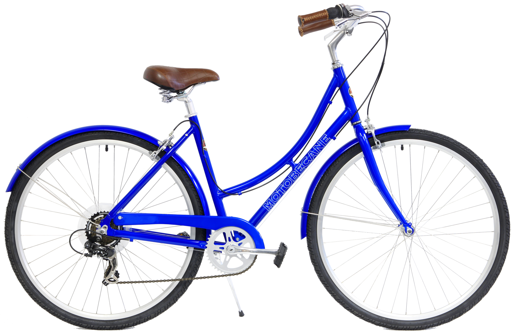 City Bikes Save up to 60% off new Motobecane Bistro 7V Aluminum City ...