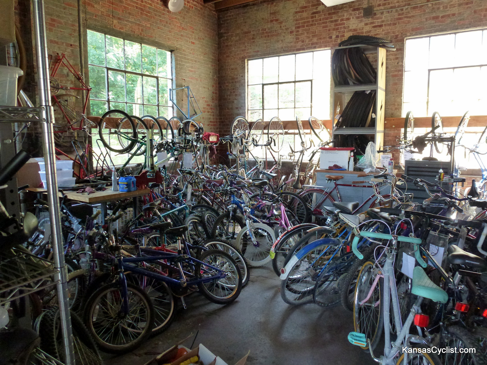 30DaysOfBiking 2012: Earn-A-Bike | Kansas Cyclist News