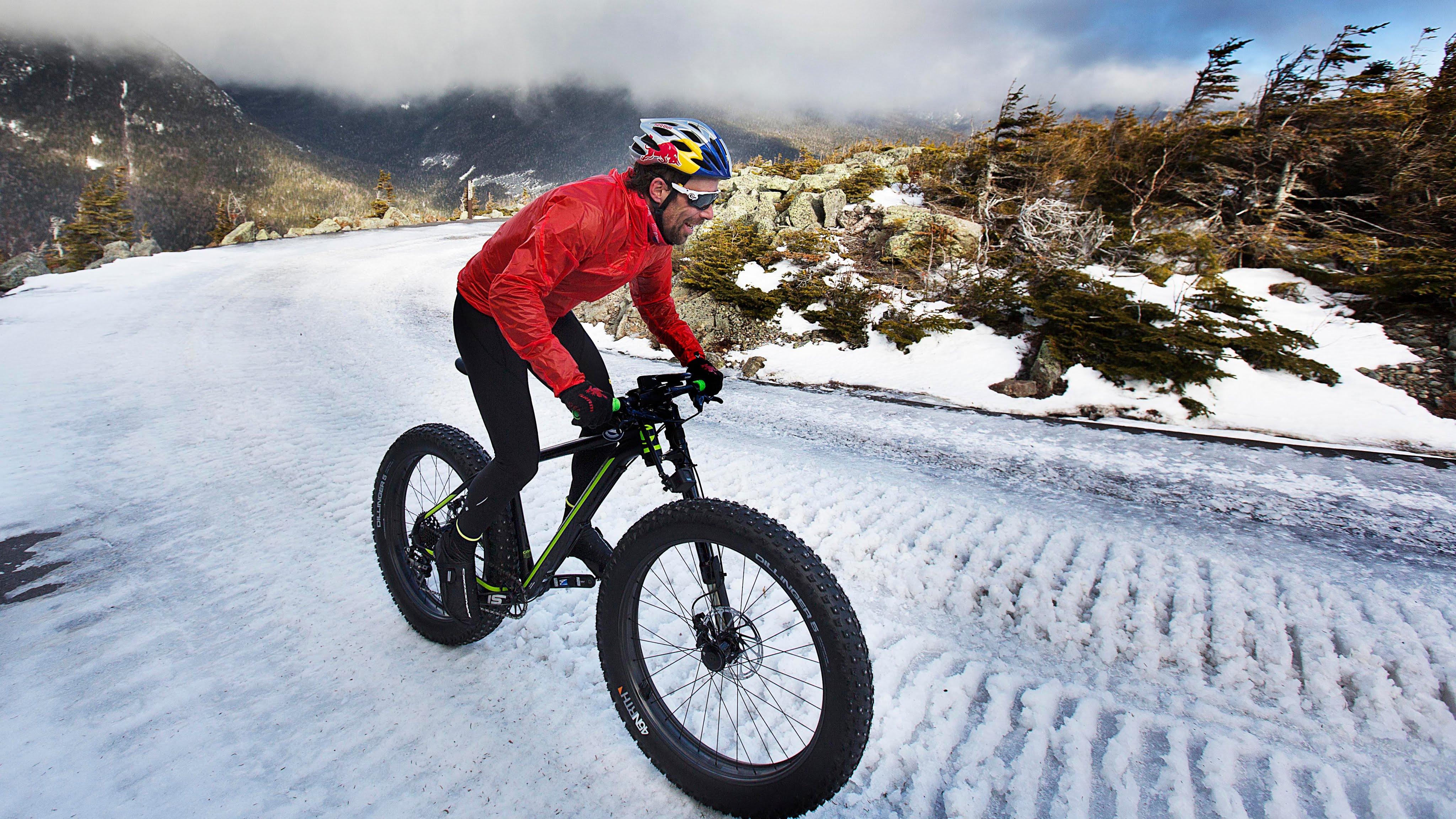 Bike in winter photo