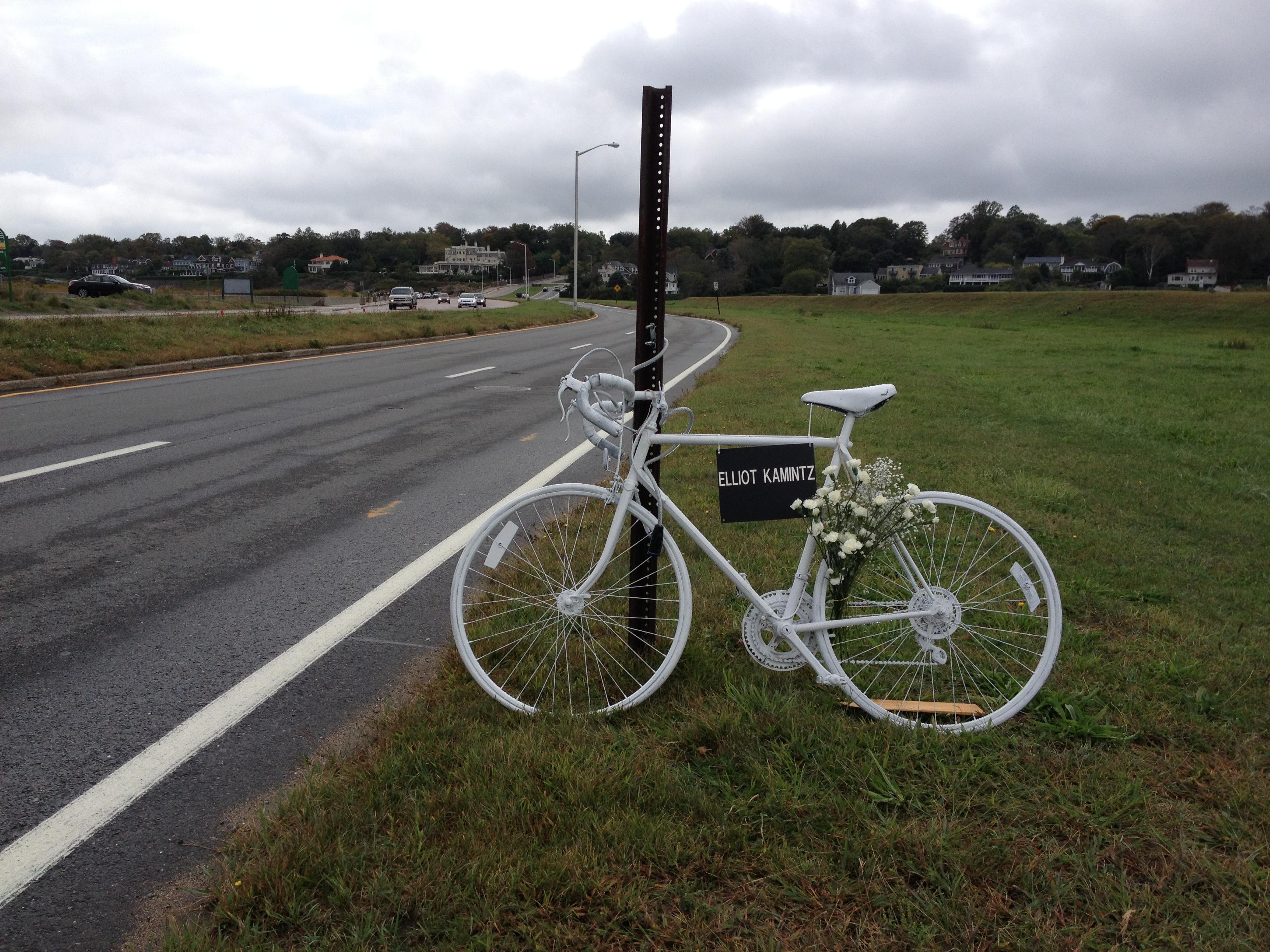 Bike memorial photo