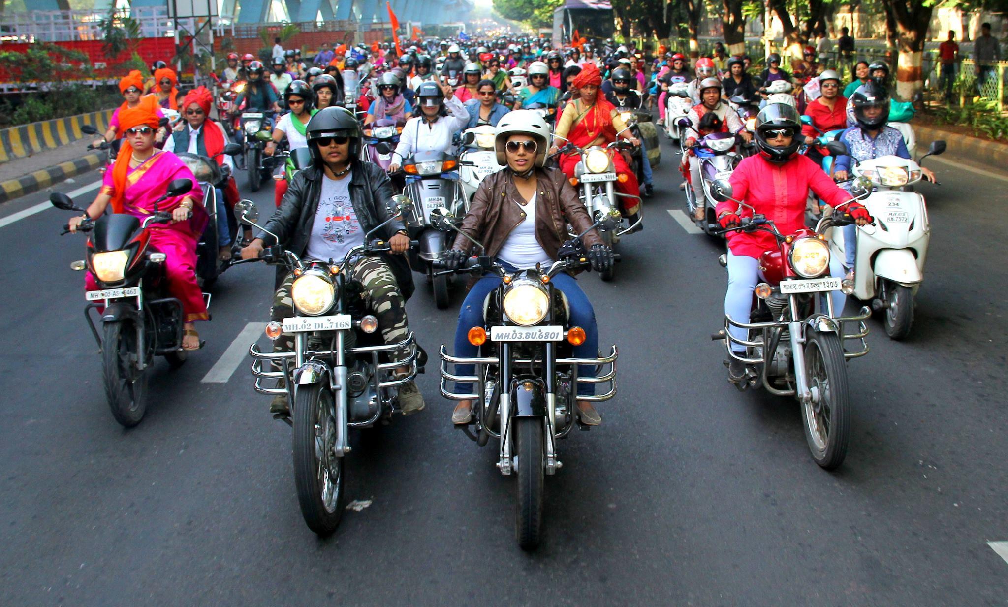 Bike rally photo