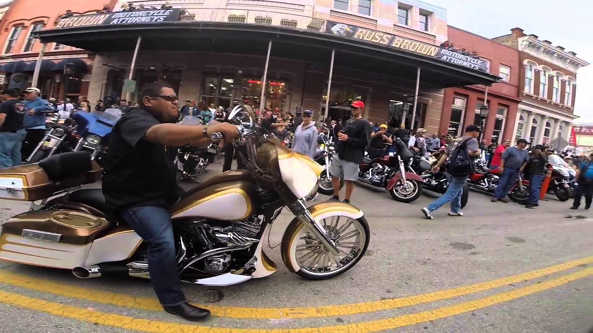 galveston bike rally 2k14 - YouTube