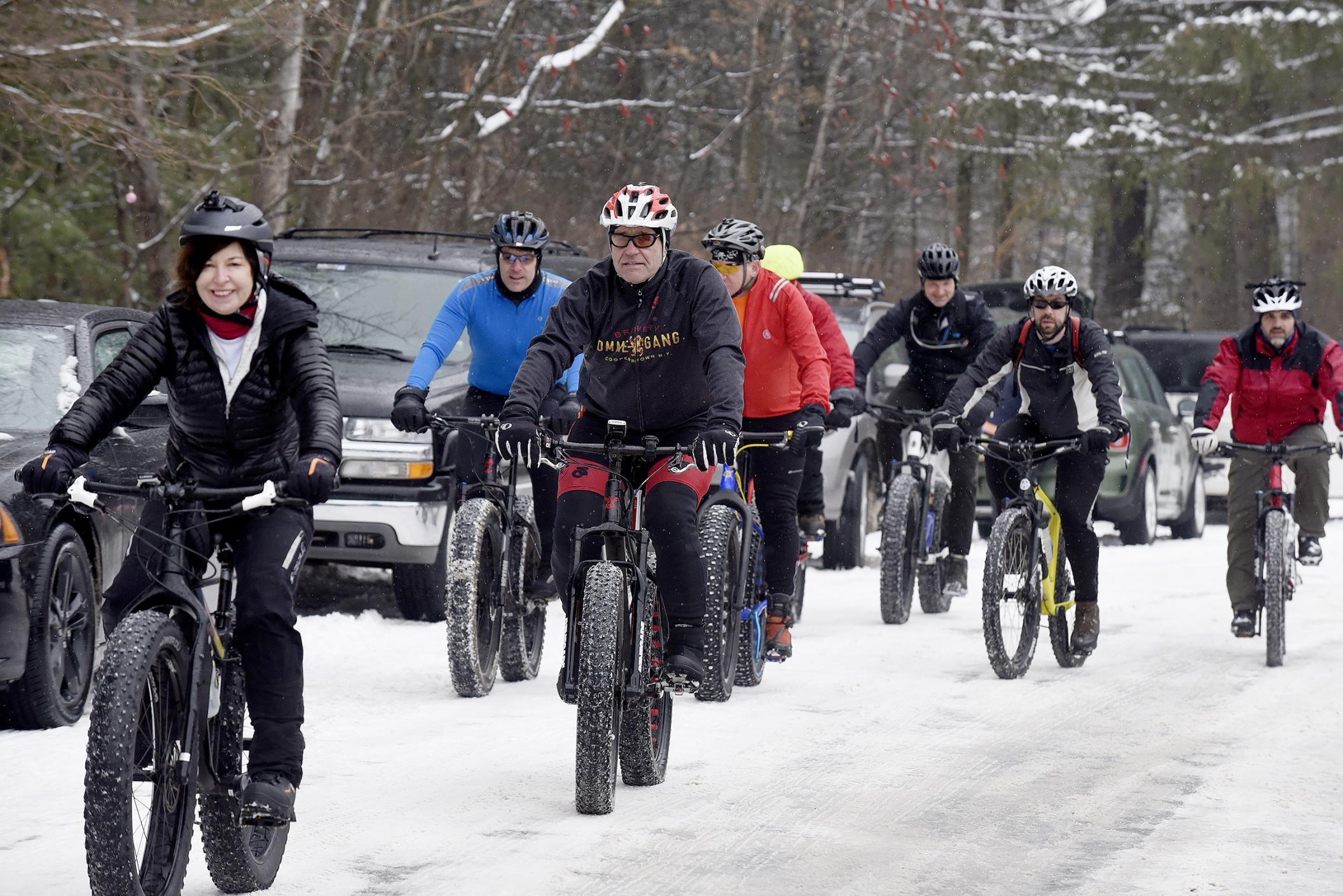 Saratoga Fat Bike Rally   The Daily Gazette