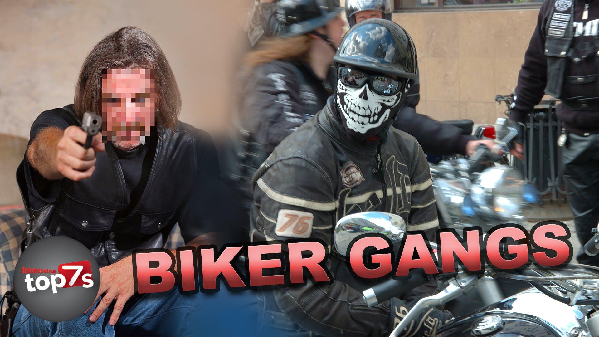 Top 7 Most Dangerous Biker Gangs - YouTube