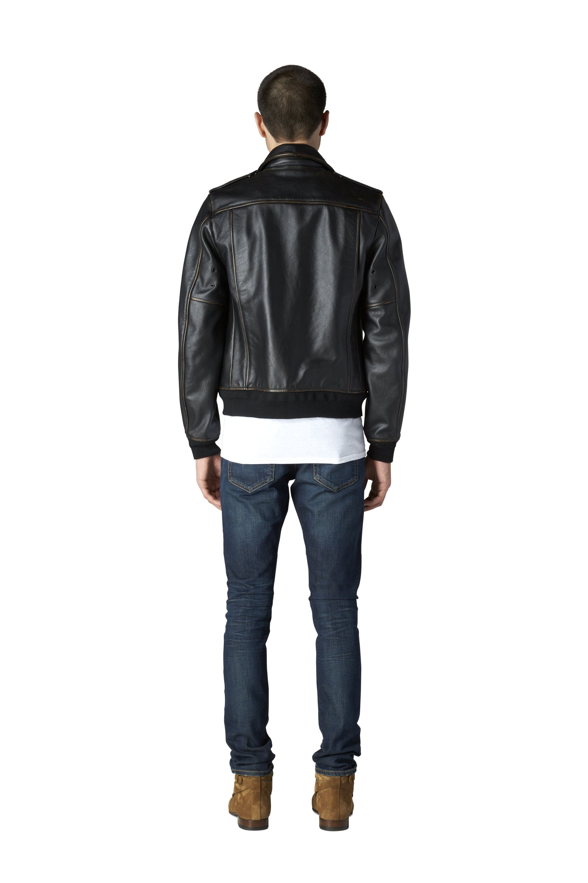 No. 1 Biker - Black | The Assembly of Leather | Shop Now - LAC