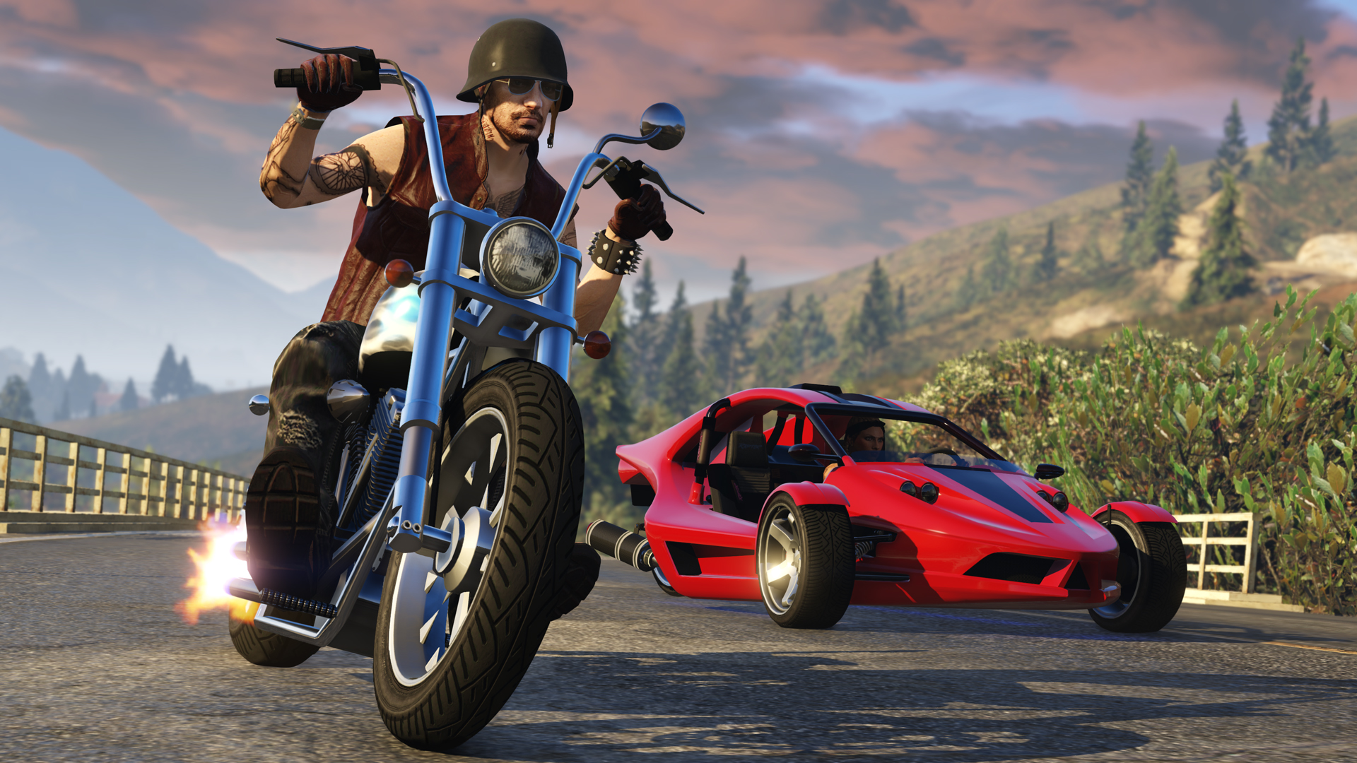 GTA Online: Bikers Update - Two New Vehicles and Sixth Purchasable ...