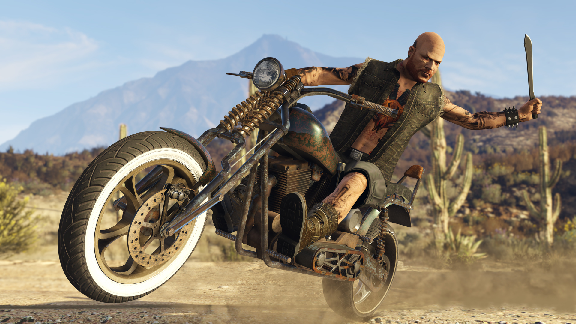 GTA Online: Bikers Coming October 4th - Rockstar Games