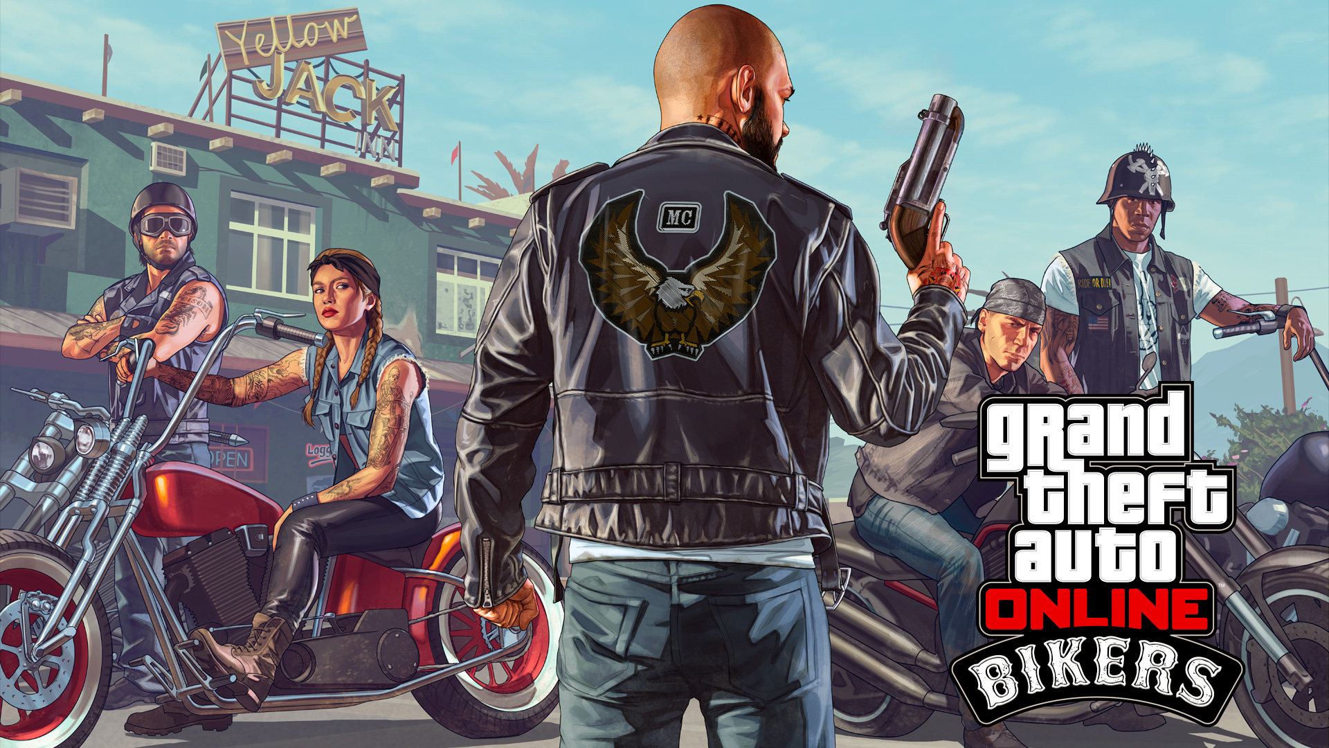 Bikers | GTA Wiki | FANDOM powered by Wikia