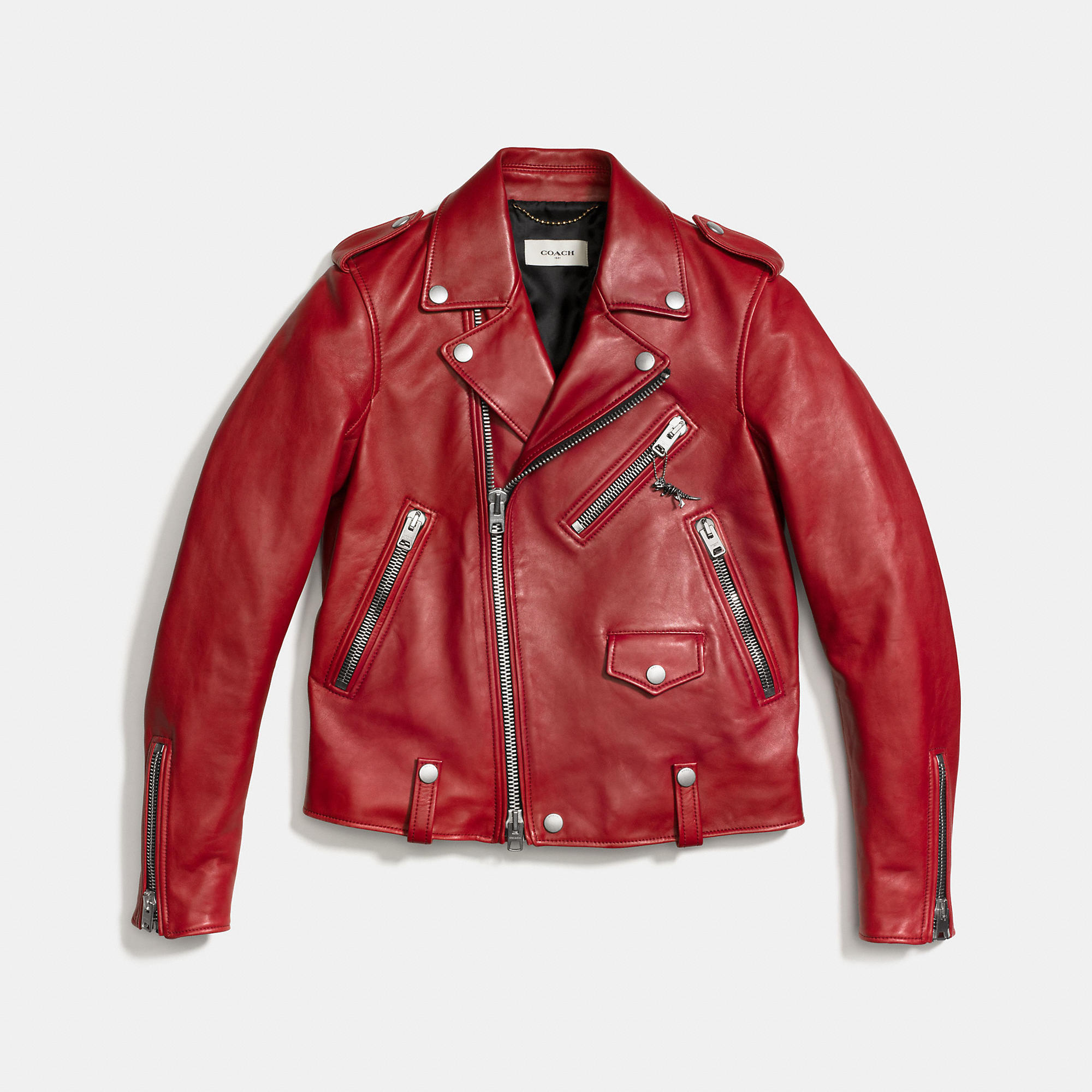 Coach 1941 Icon Leather Biker Jacket | evaChic