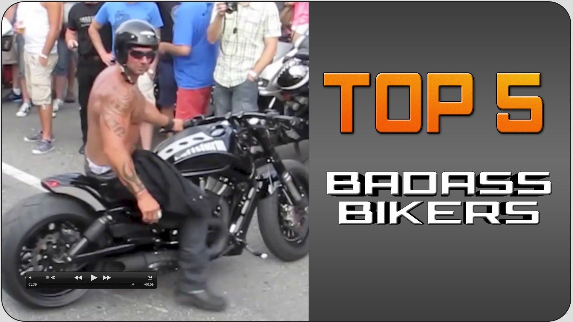 Top5 Badass Bikers | JukinVideo Top Five - YouTube