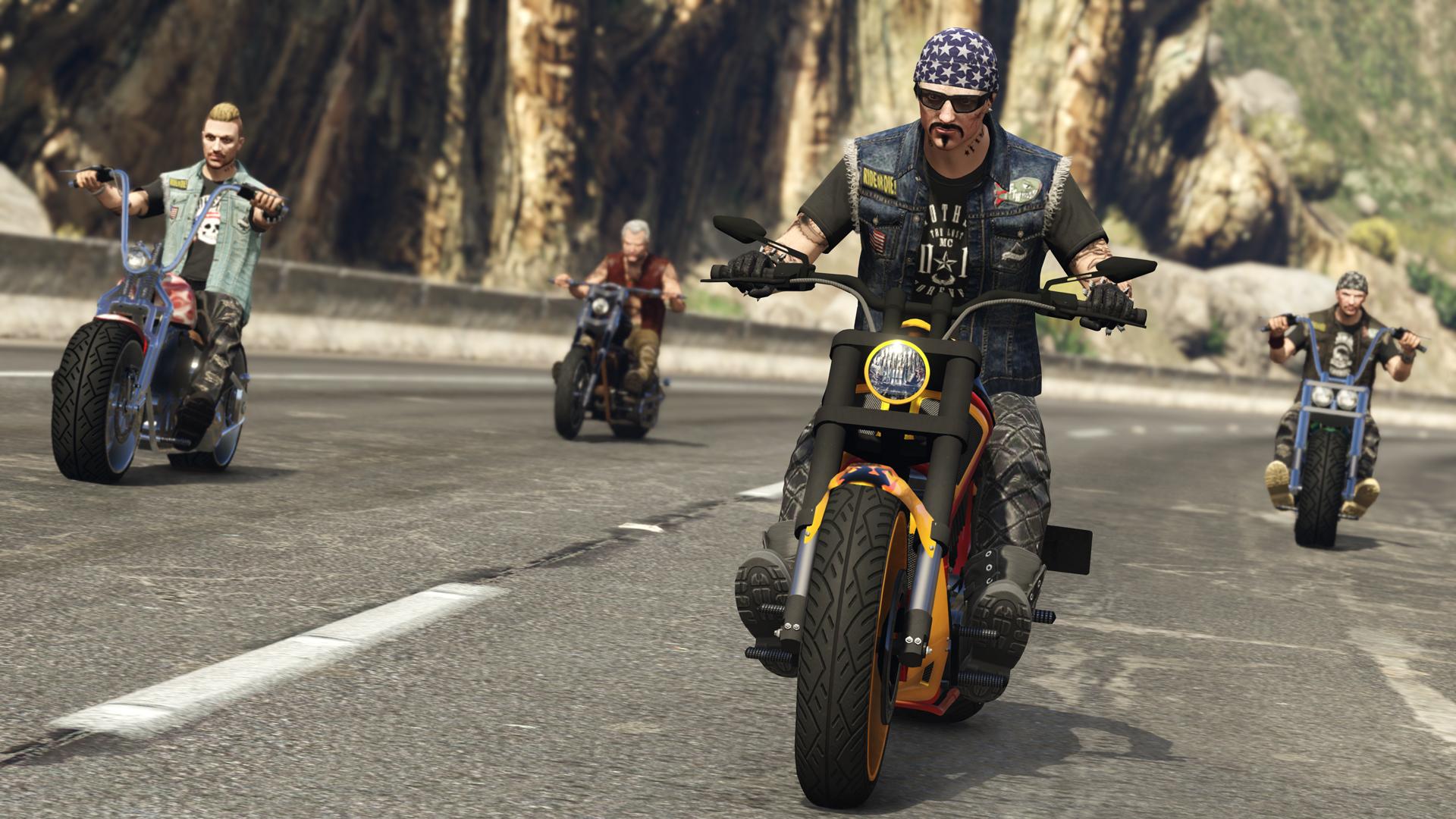 GTA Online: Bikers Coming October 4th - Rockstar Games