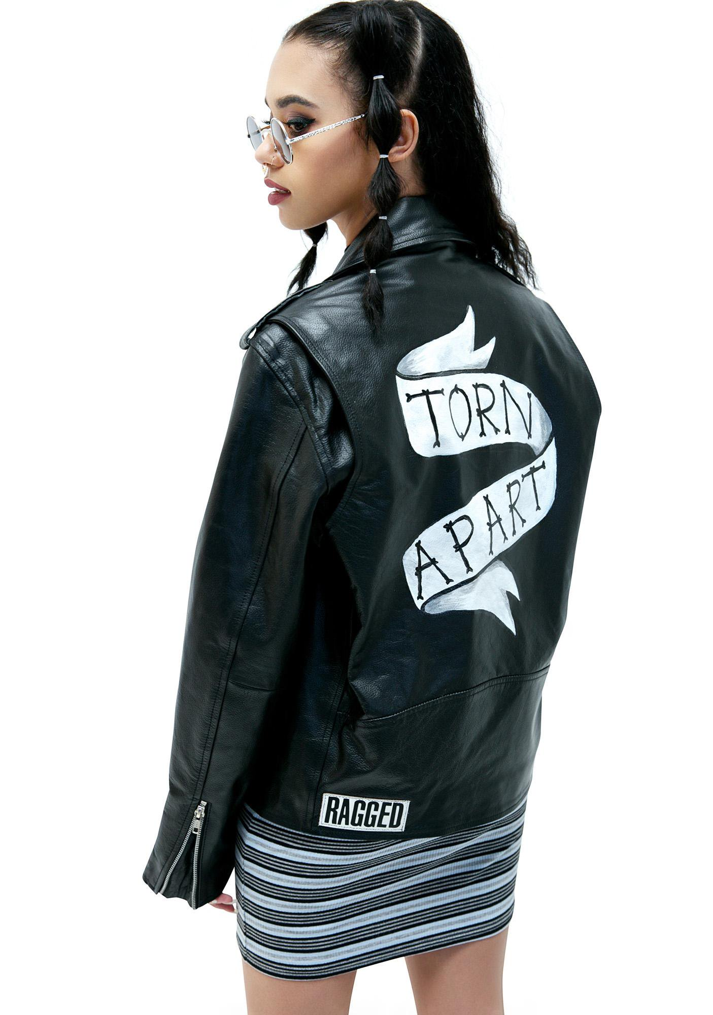The Ragged Priest Shredder Biker Jacket | Dolls Kill