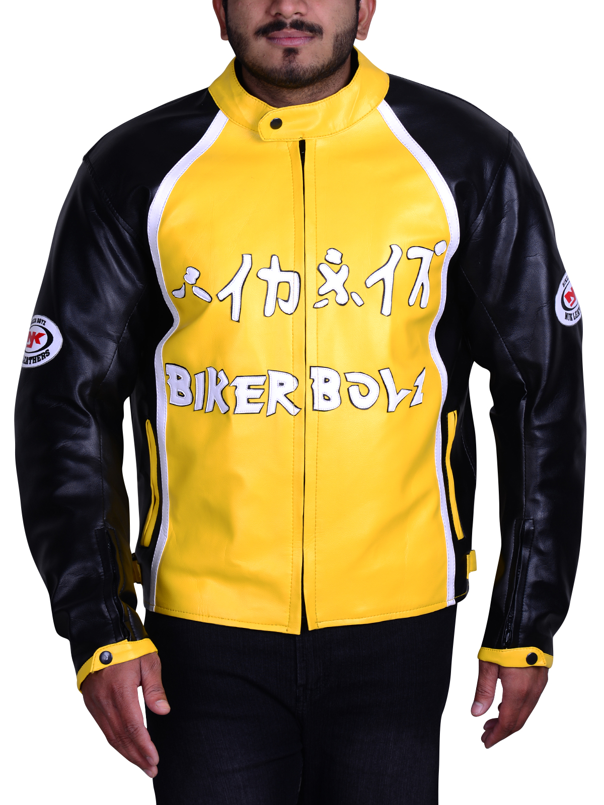 Derek Luke Biker Boyz Yellow Jacket - Instylejackets