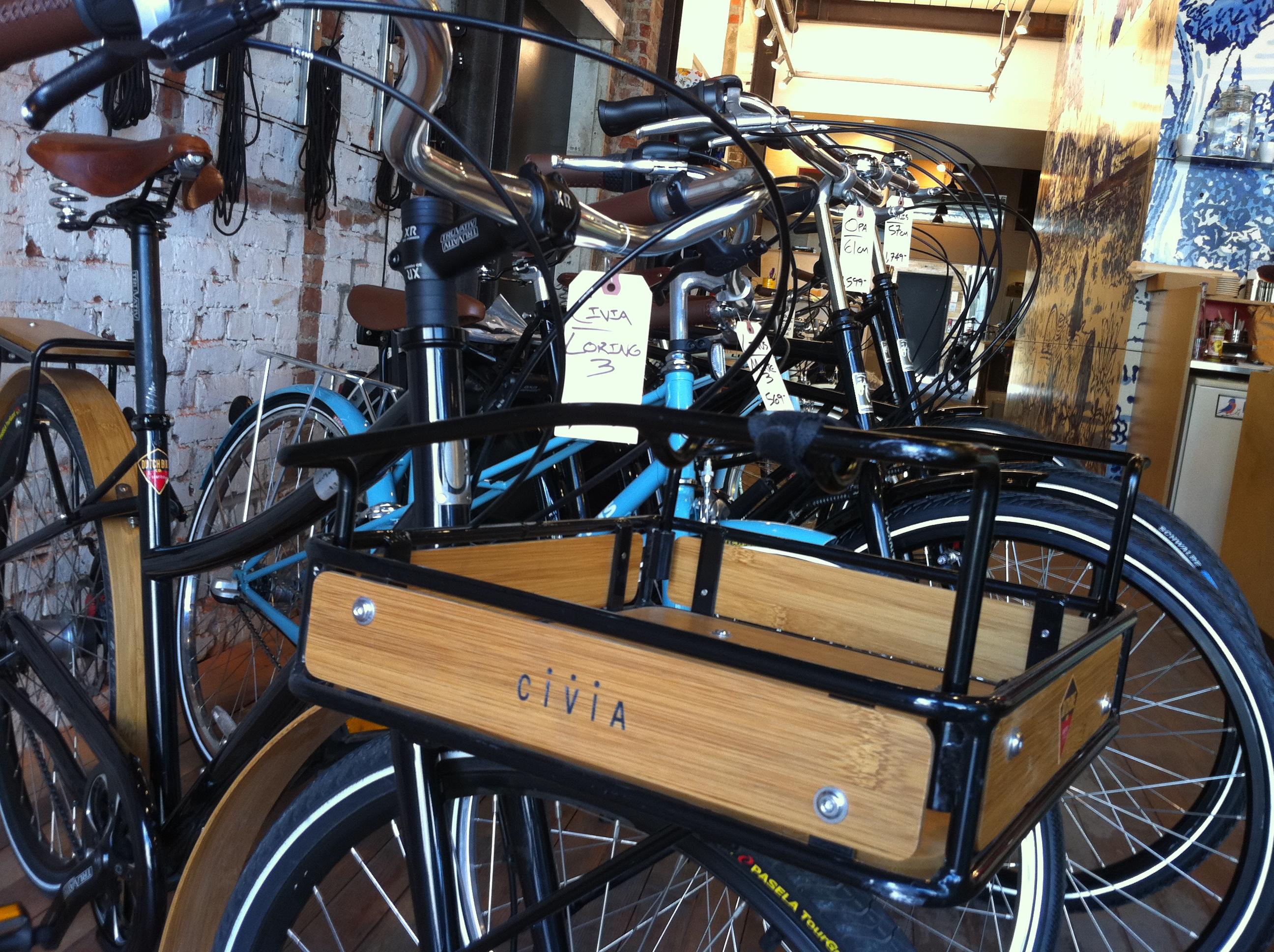 Bikes retail photo
