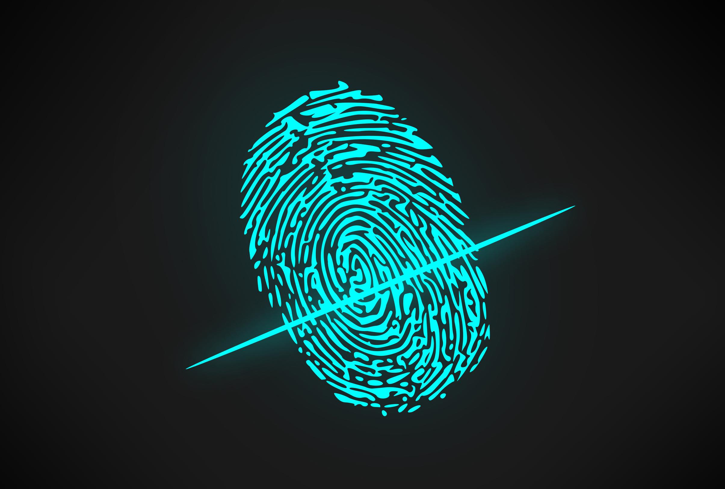 Biometric Authentication Software - Fingerprint, Access, Scanner, Macro, Modern, HQ Photo