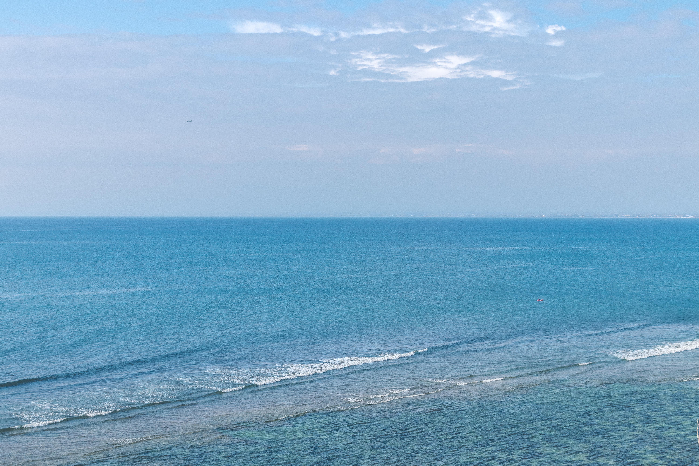 Bird's Eye View of Ocean, Beach, Scene, Water, Surface, HQ Photo