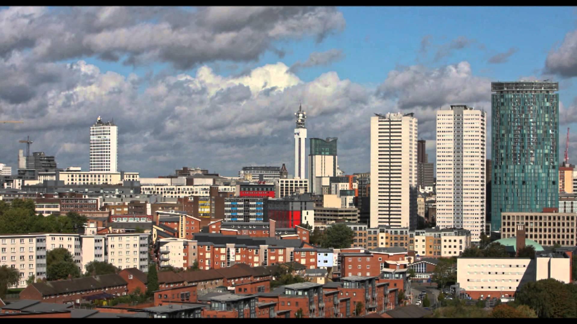 Birmingham Skyline - YouTube