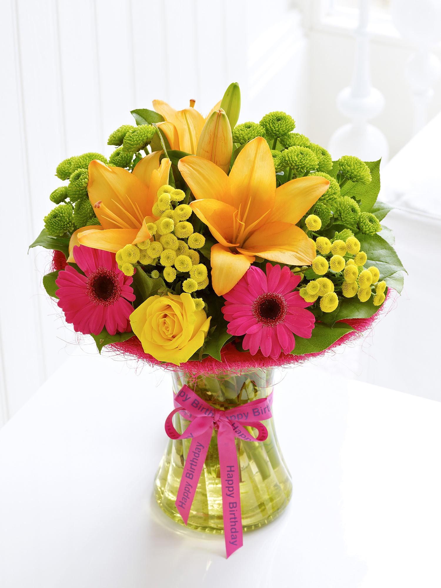 Free photo: Birthday Bouquet - fresh, garden, nature - Creative ...