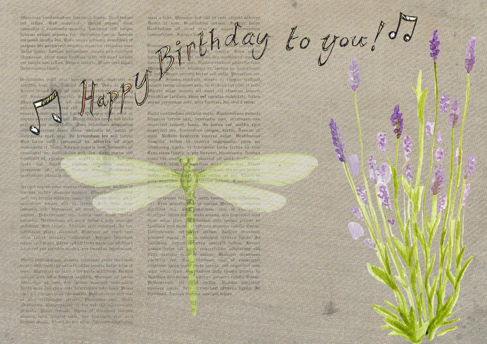Birthday Card, Birthday, Card, Happy, Wish, HQ Photo