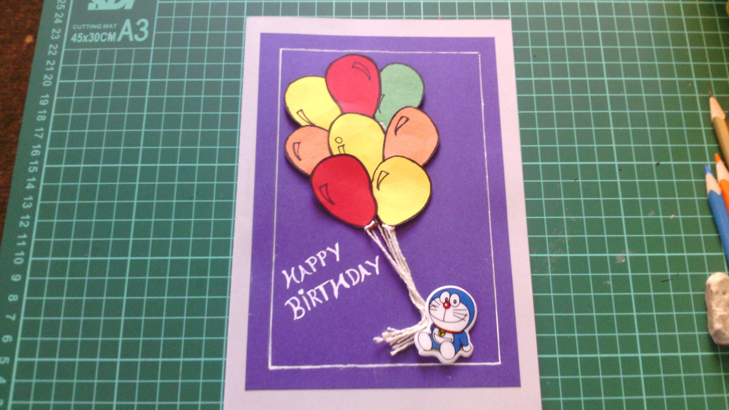 Handmade Birthday Cards - YouTube