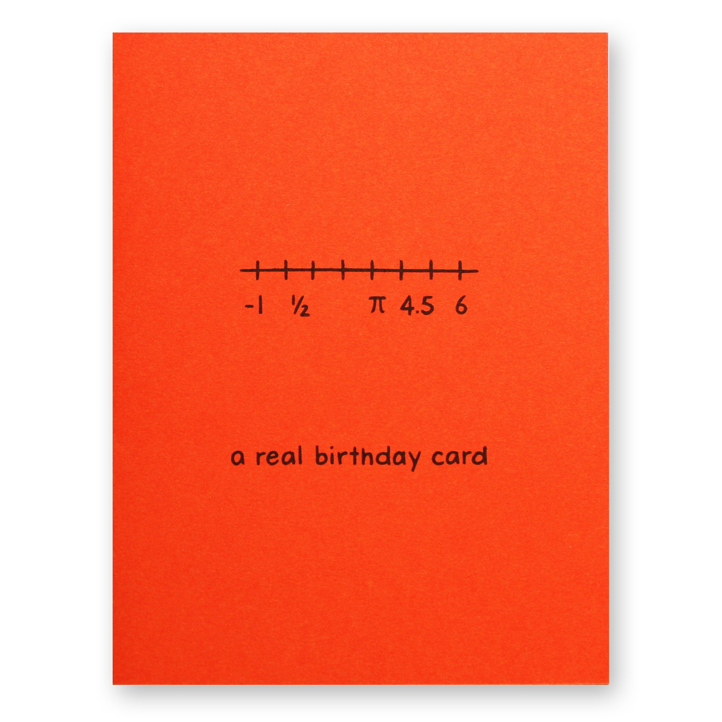 Real Birthday Card - The Chemist Tree