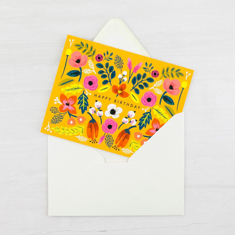 Folk Birthday Card – Heyday Bozeman