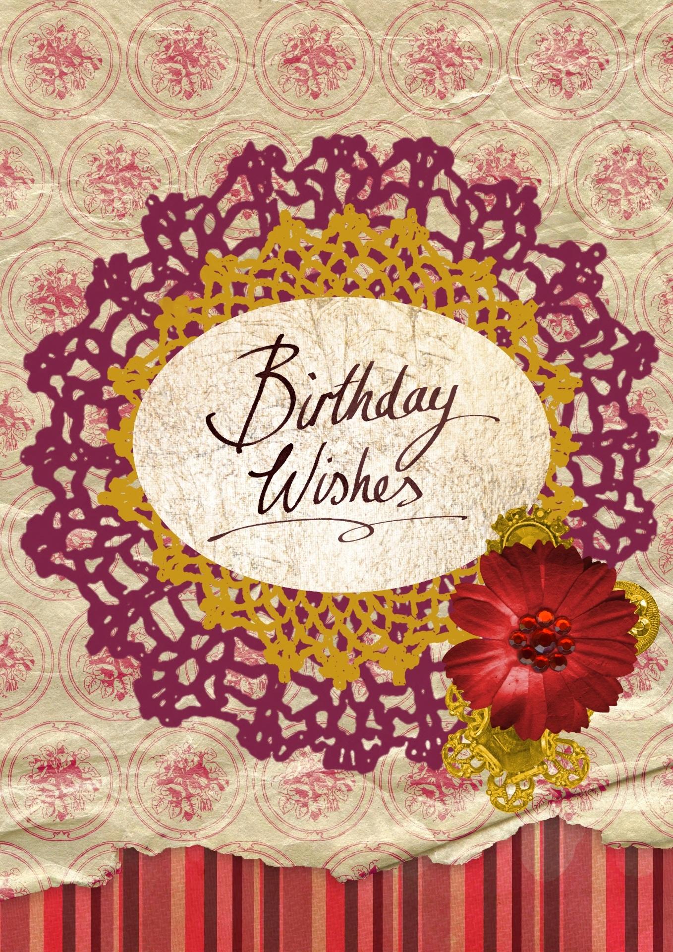 Birthday Card, Birthday, Card, Graphics, Wish, HQ Photo