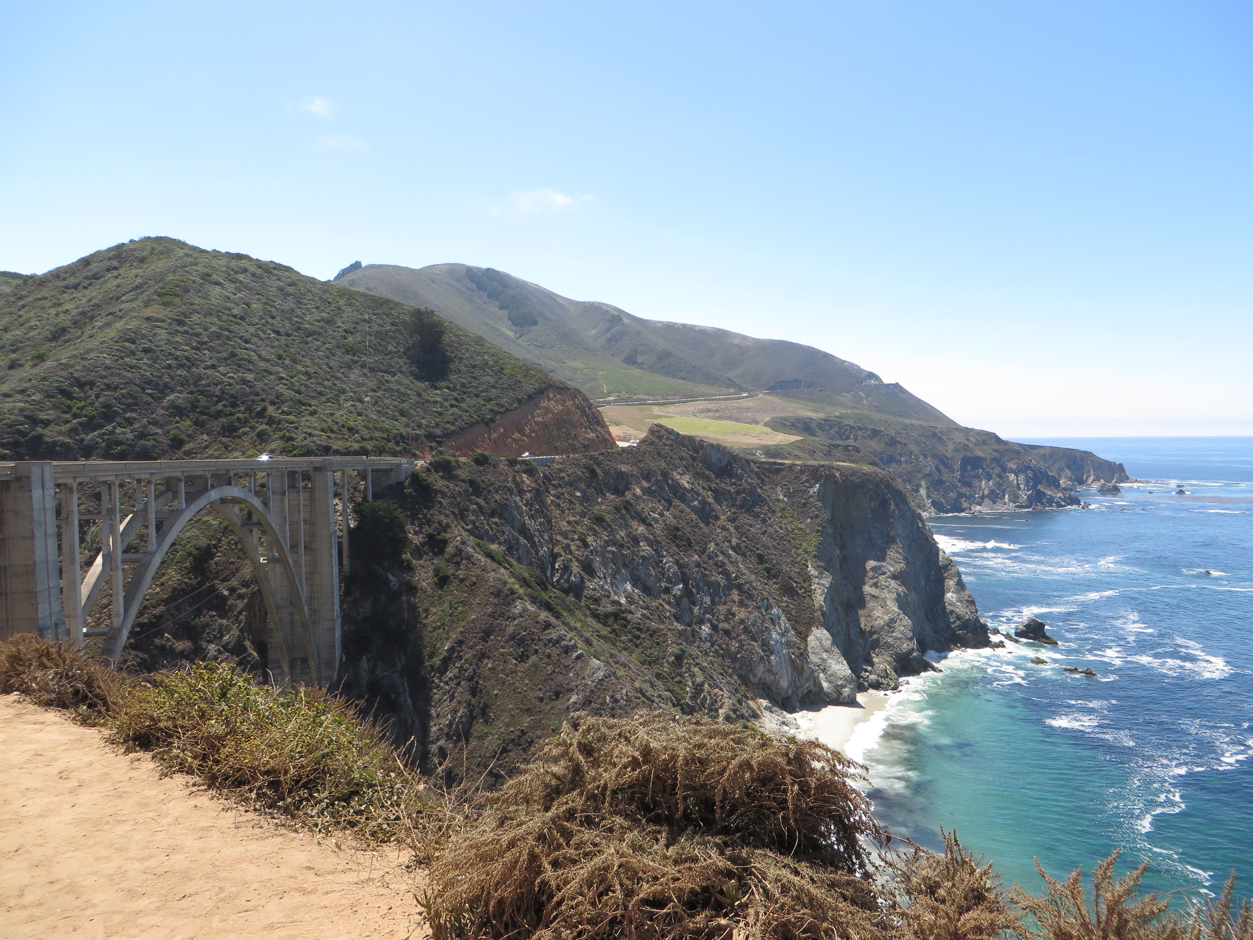 Bixby Bridge, CA | Road trip - US west coast | Pinterest | Bridges ...