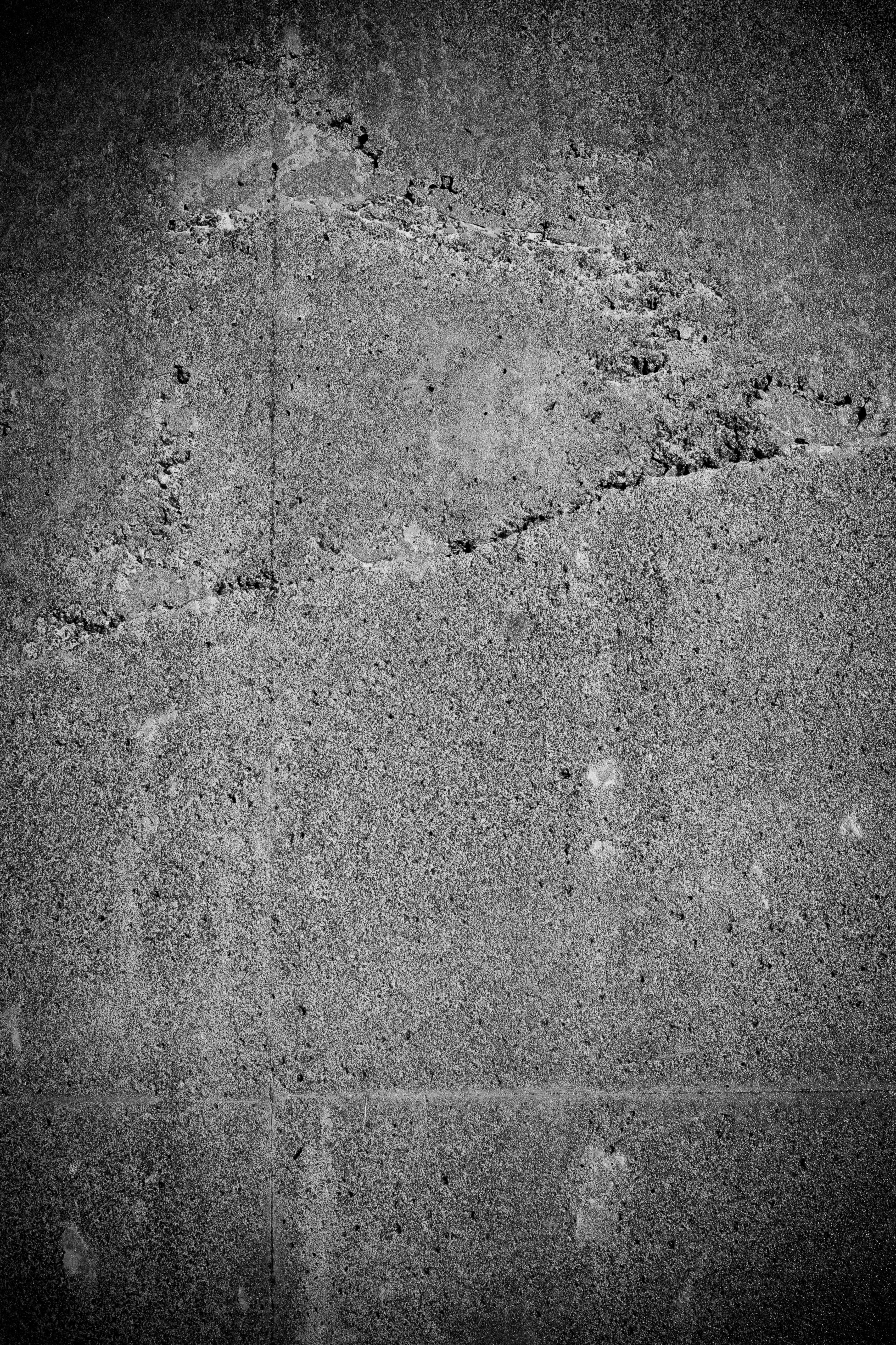 Black & white grunge wall texture photo