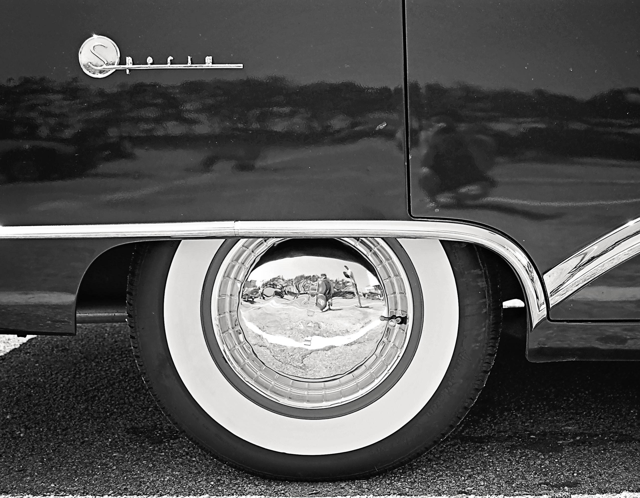 Black and White Car Wheel, Asphalt, Shiny, Vintage, Vehicle, HQ Photo