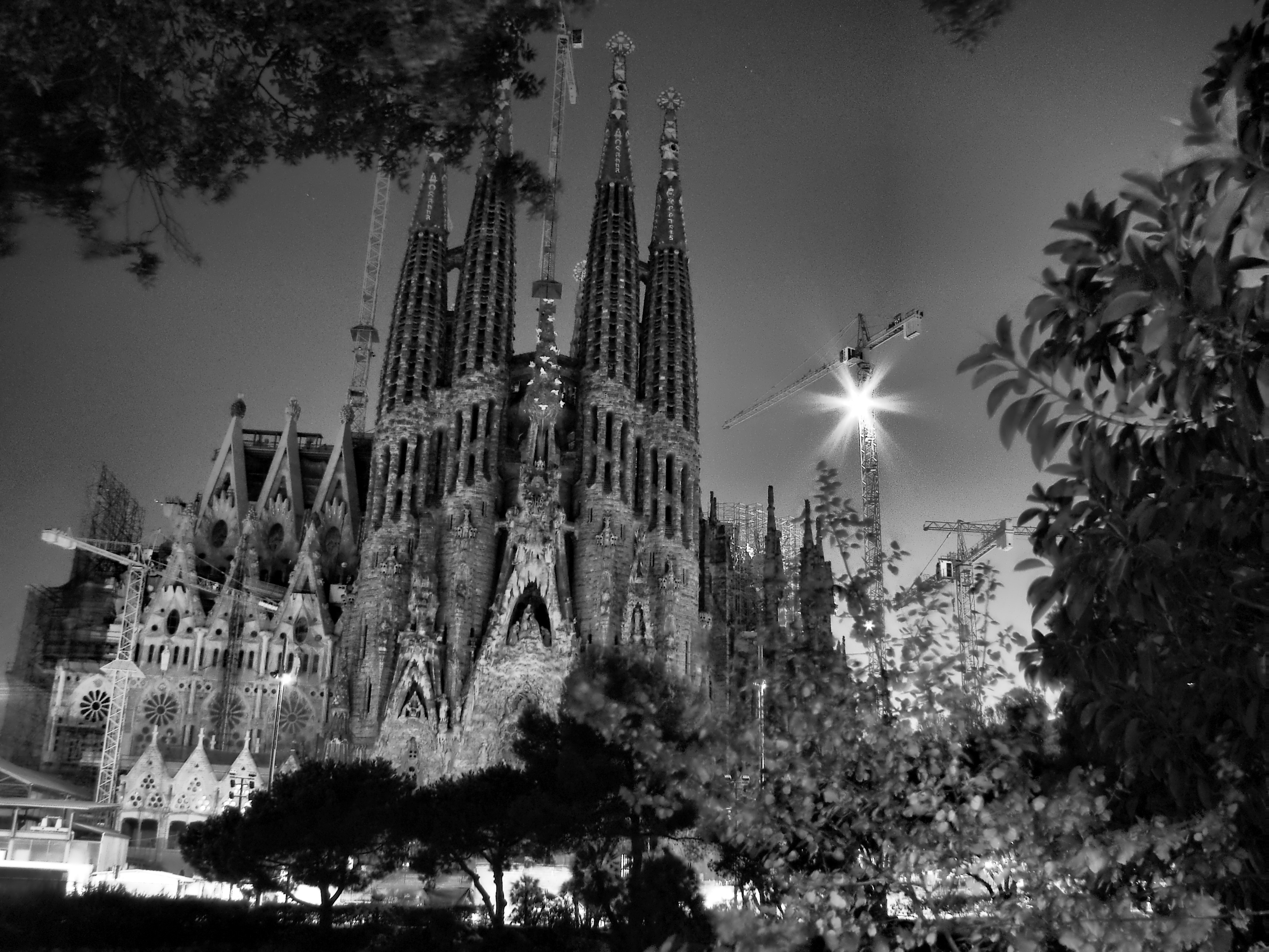 Black and white cathedral, Black, Building, Cathedral, Church, HQ Photo