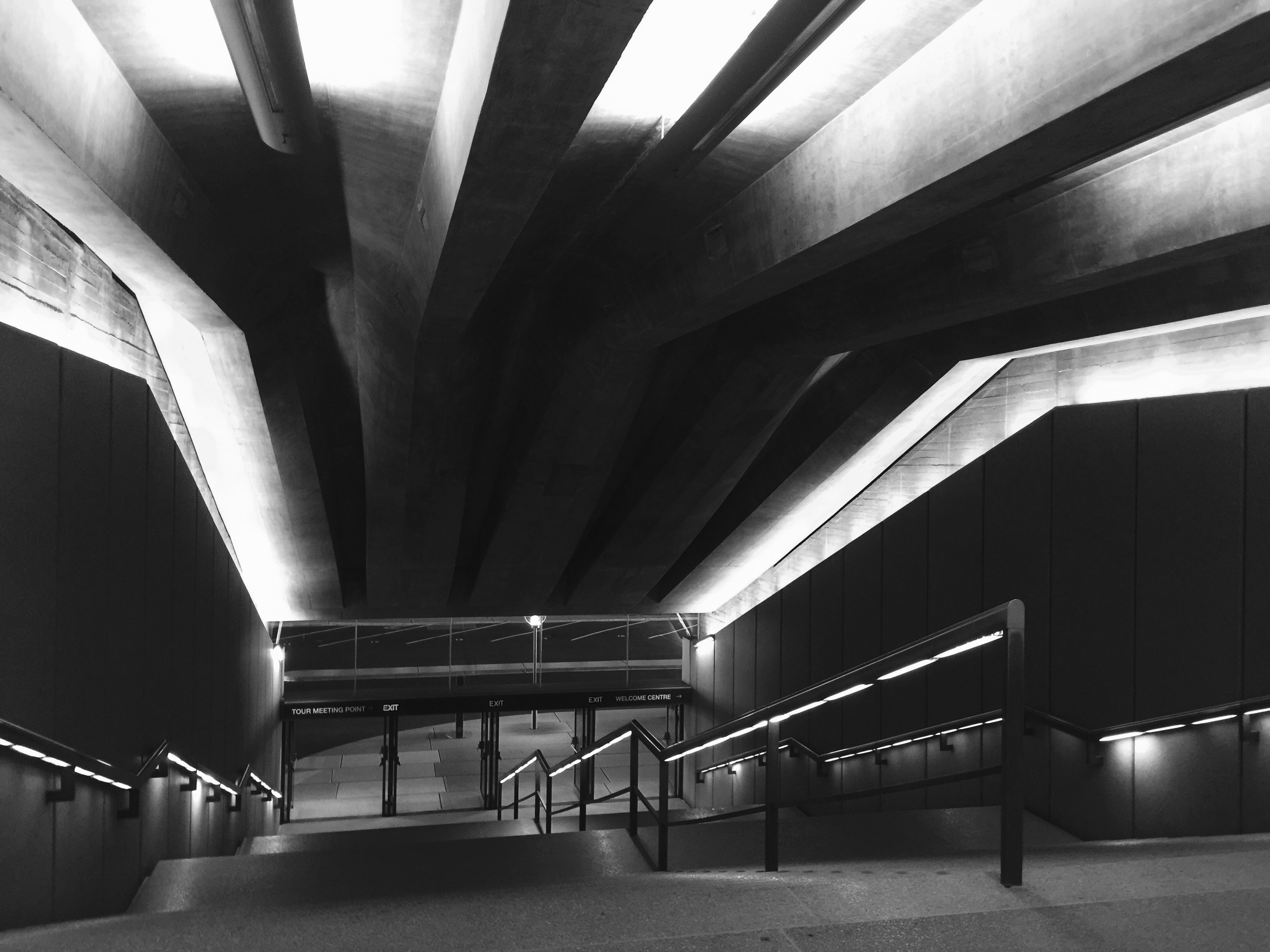 Black and White Photography of Stairs, Architecture, Art, Black-and-white, Building, HQ Photo