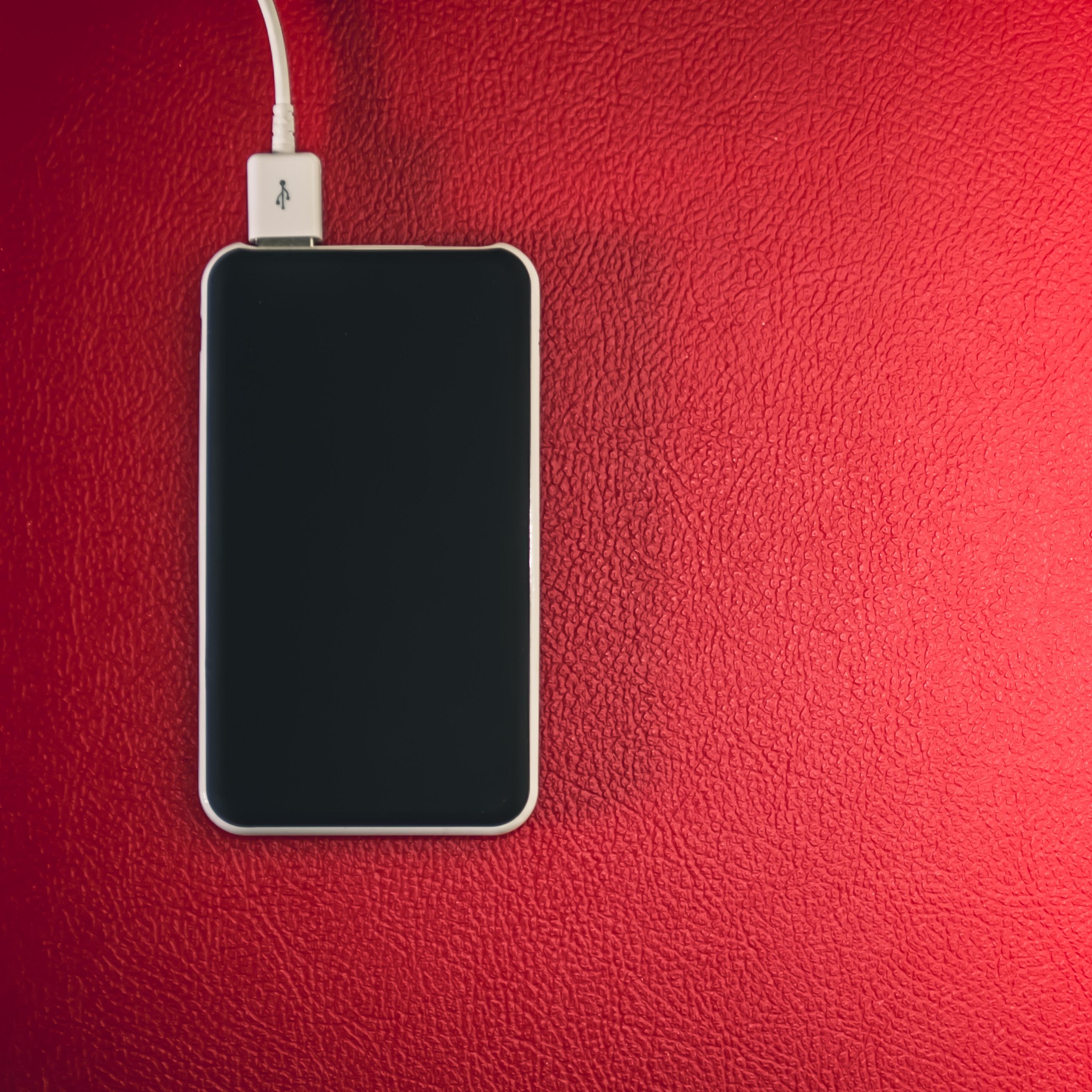 Black and white smartphone photo