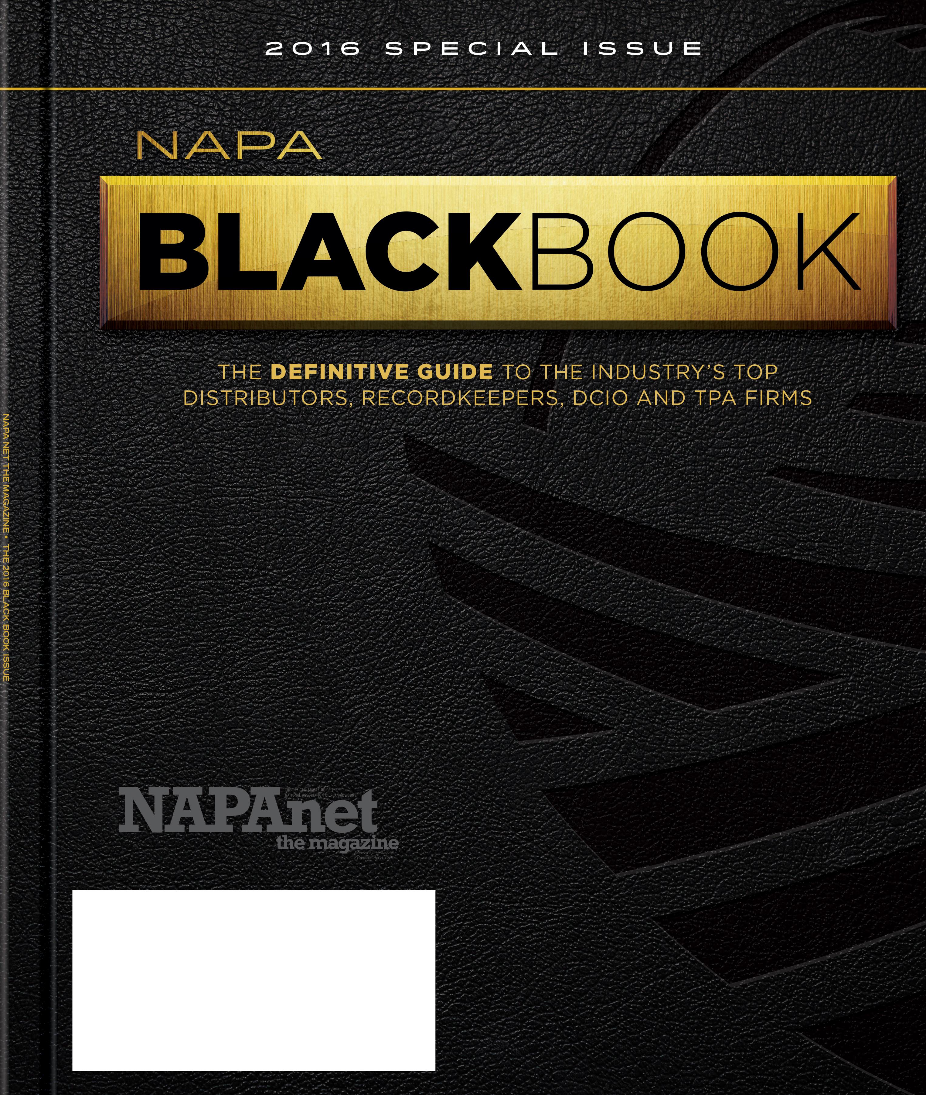NAPA Black Book - NAPA Net