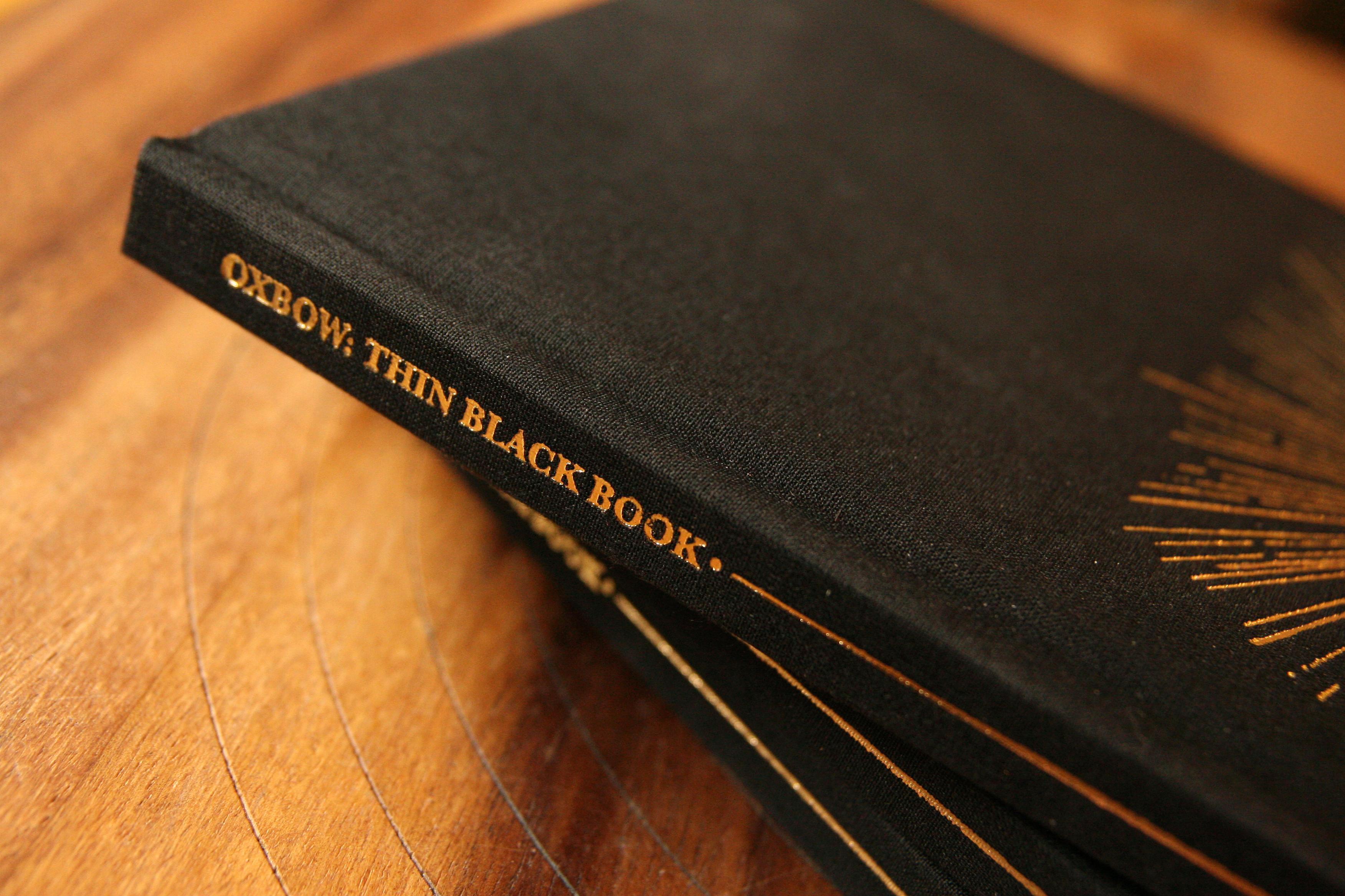 OXBOW • THIN BLACK BOOK on Behance