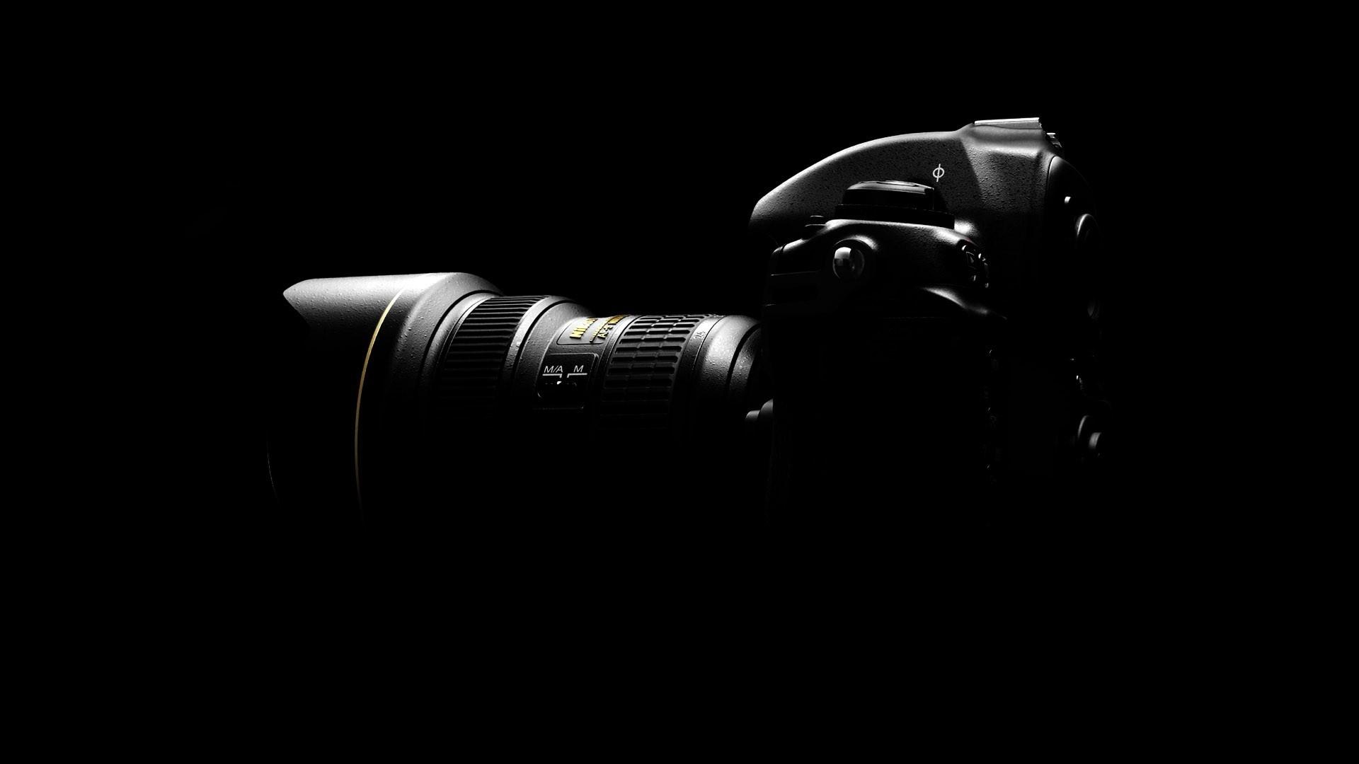 Download Wallpaper 1920x1080 camera, black, light, gray Full HD ...