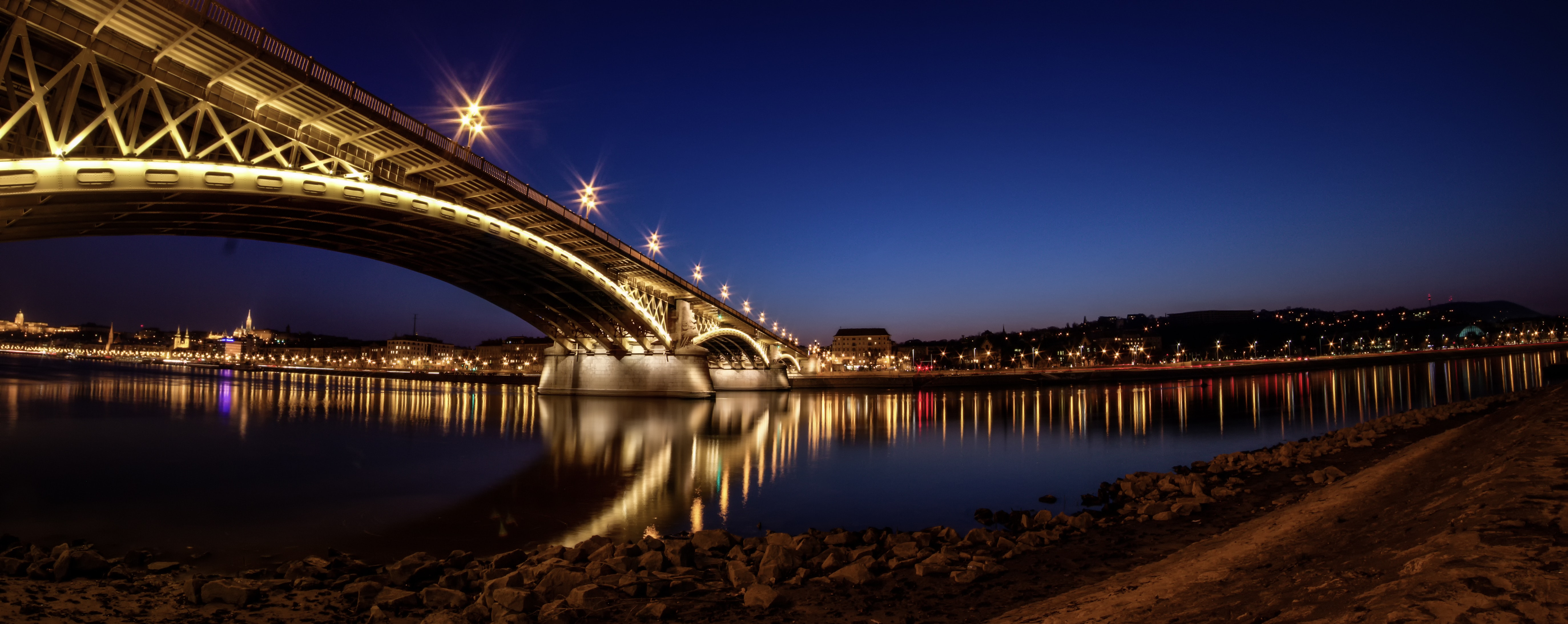 Black Cityscape during Night, Australia, Bridge, Buildings, City, HQ Photo