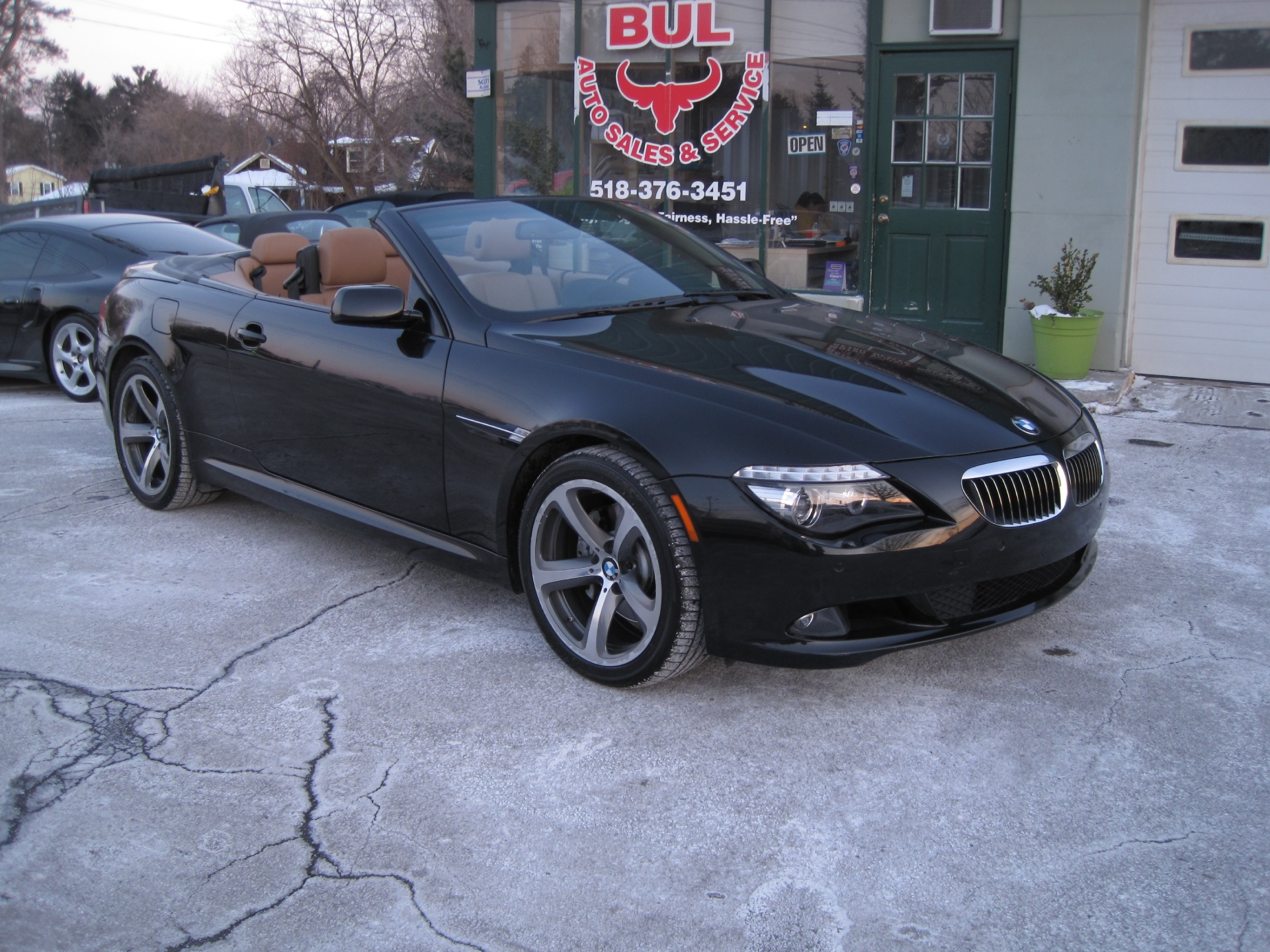 2009 BMW 6 Series 650i CONVERTIBLE,BLACK ON BROWN,SPORT PACKAGE ...