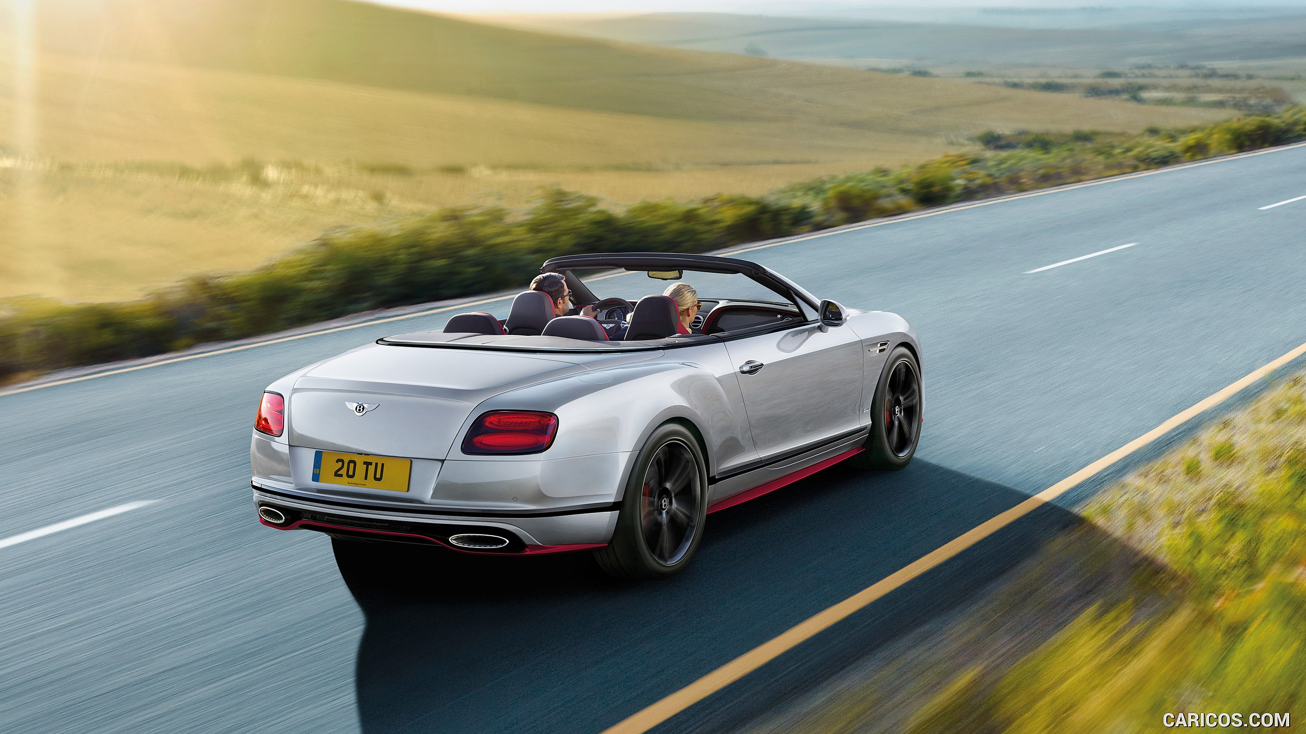 2017 Bentley Continental GT Speed Convertible Black Edition - Rear ...