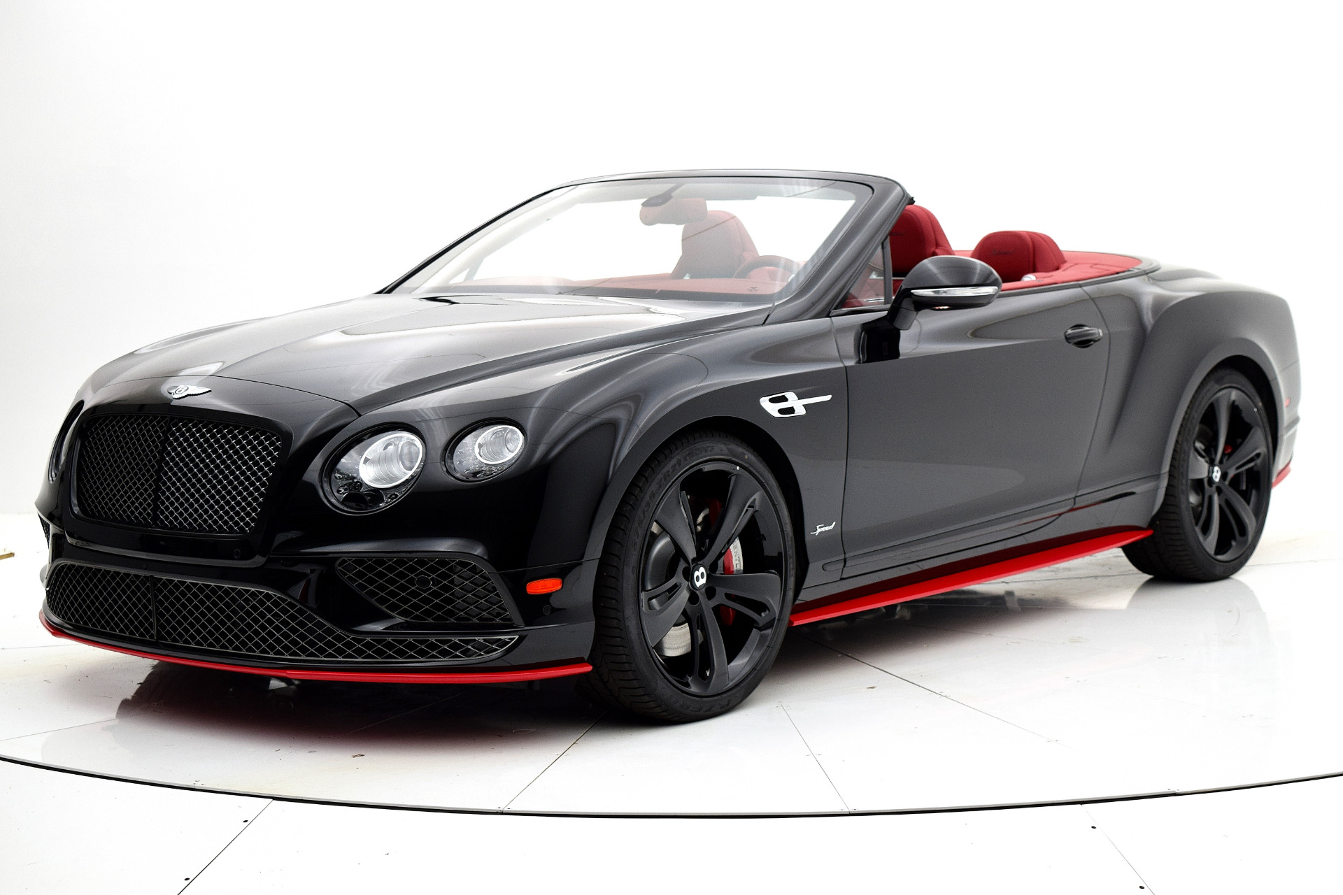 2017 Bentley Continental GT Speed Convertible Black Edition -