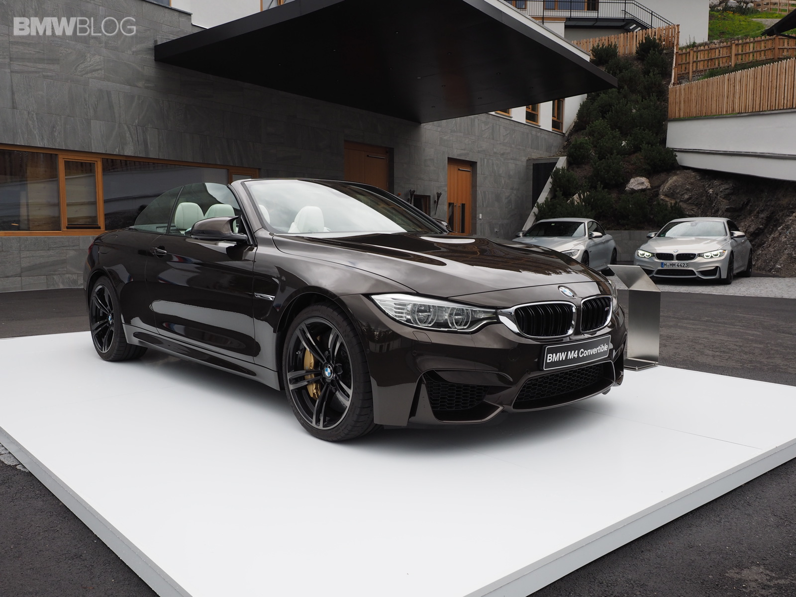 2015 BMW M4 Convertible in Pyrite Brown