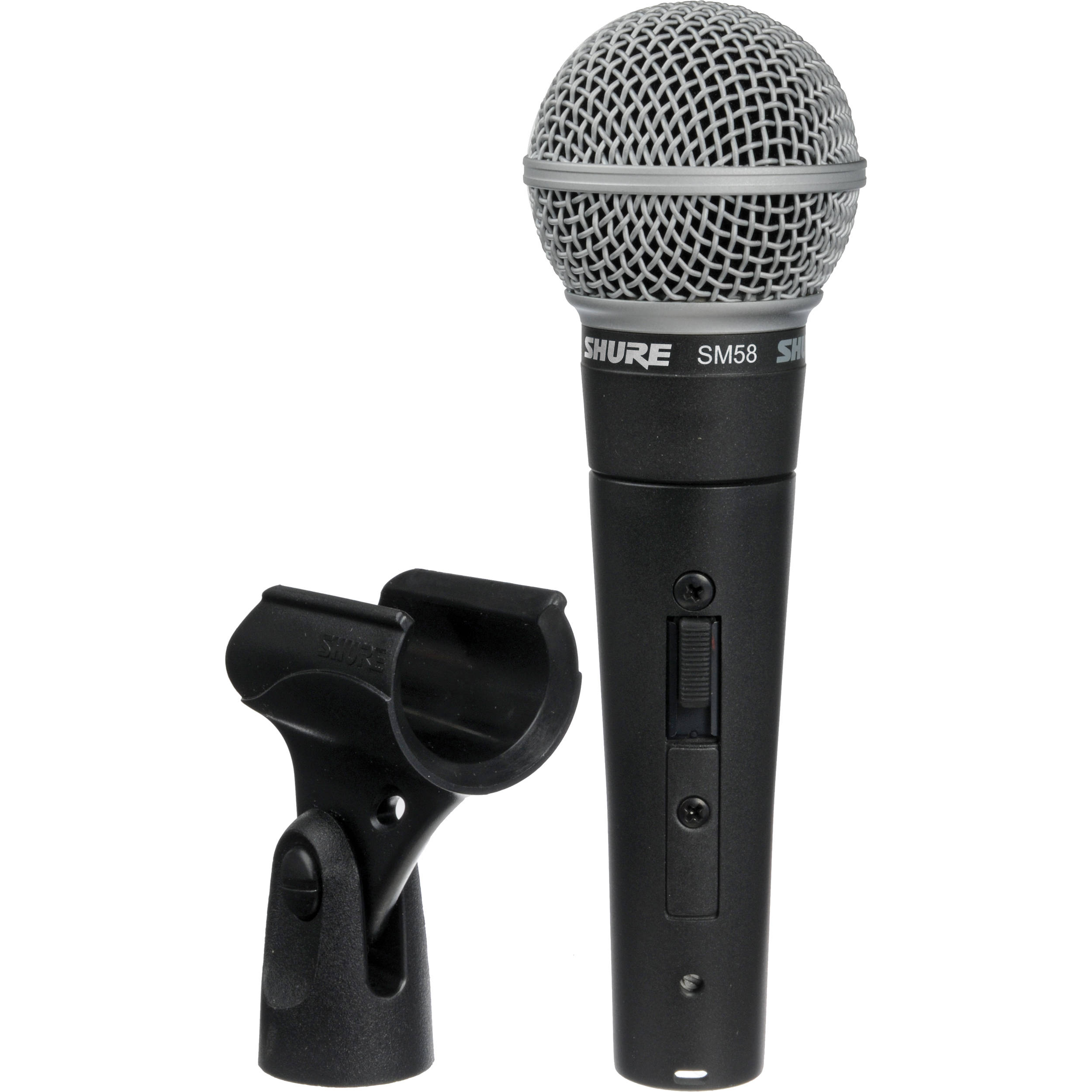 hure SM58S Vocal Microphone with On/Off Switch B&H Photo