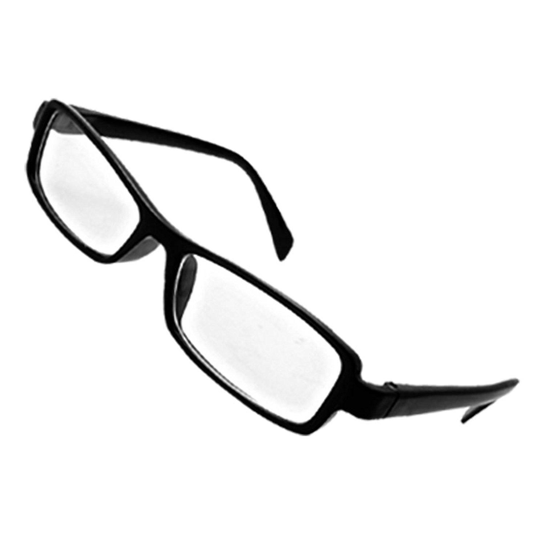 Amazon.com: HIgh Fashion Chic Eyeglasses Glasses in Black ...