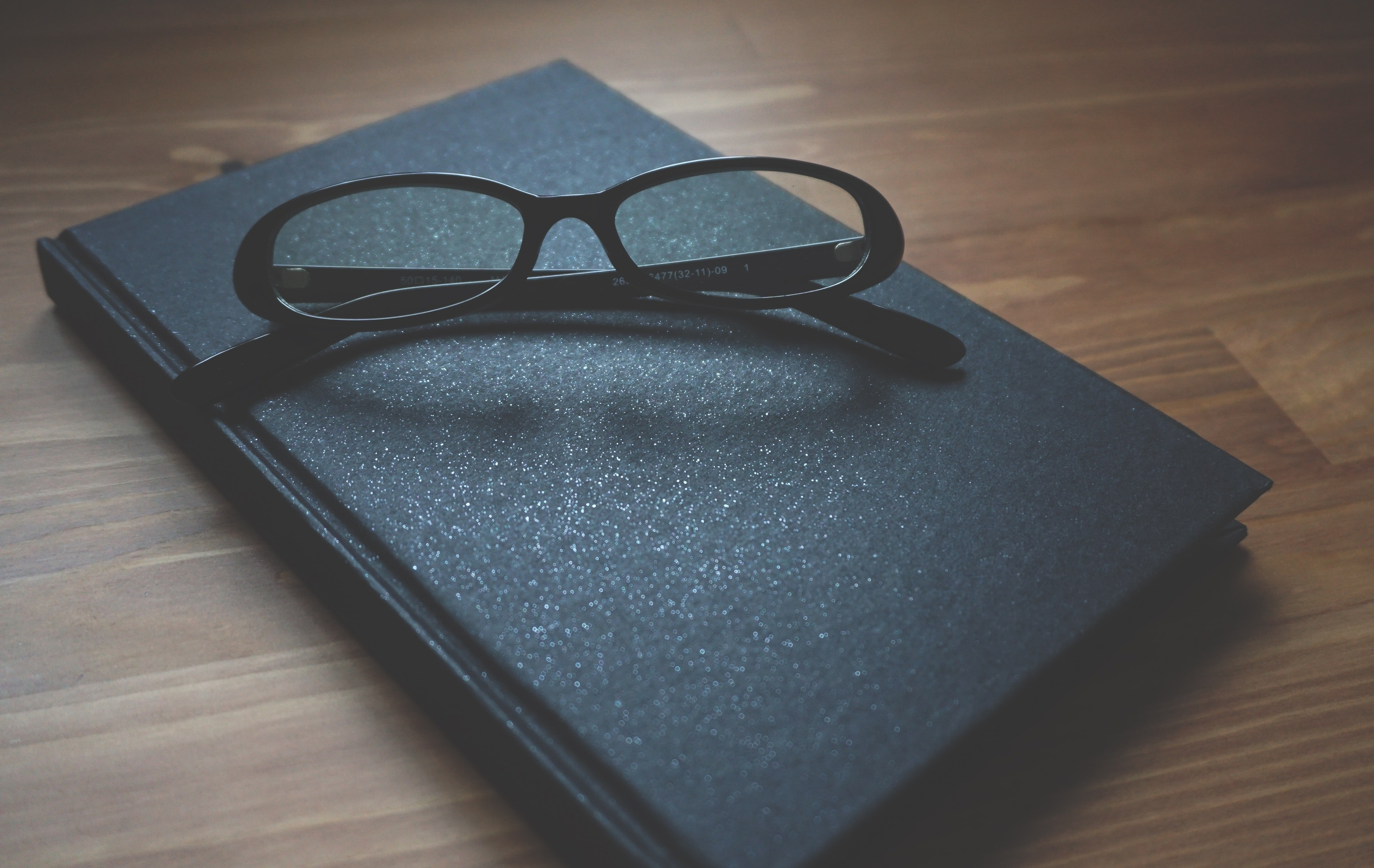 Black Framed Eyeglasses, Blur, Book, Close-up, Eyeglasses, HQ Photo