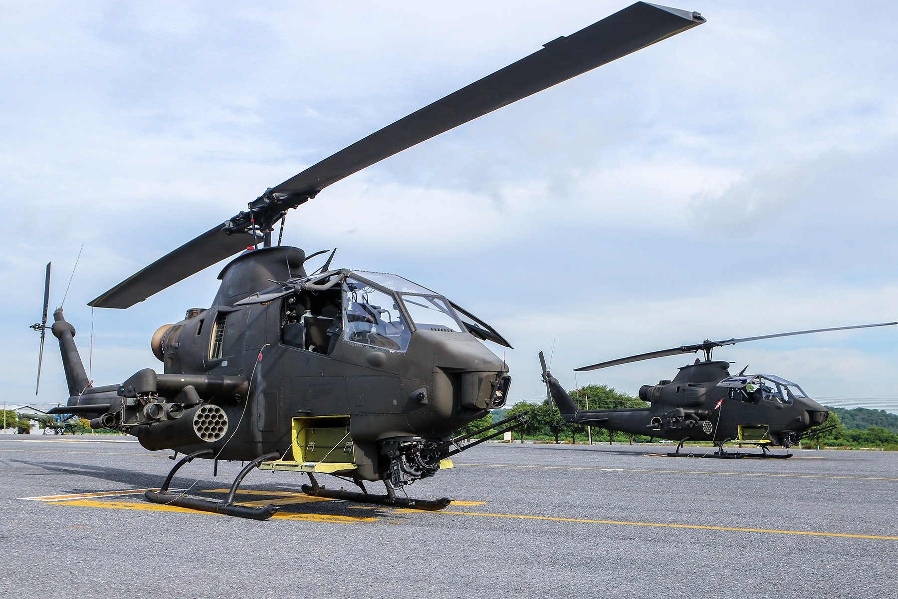 Black Helicopter, Air, Aircraft, Airplane, Airport, HQ Photo