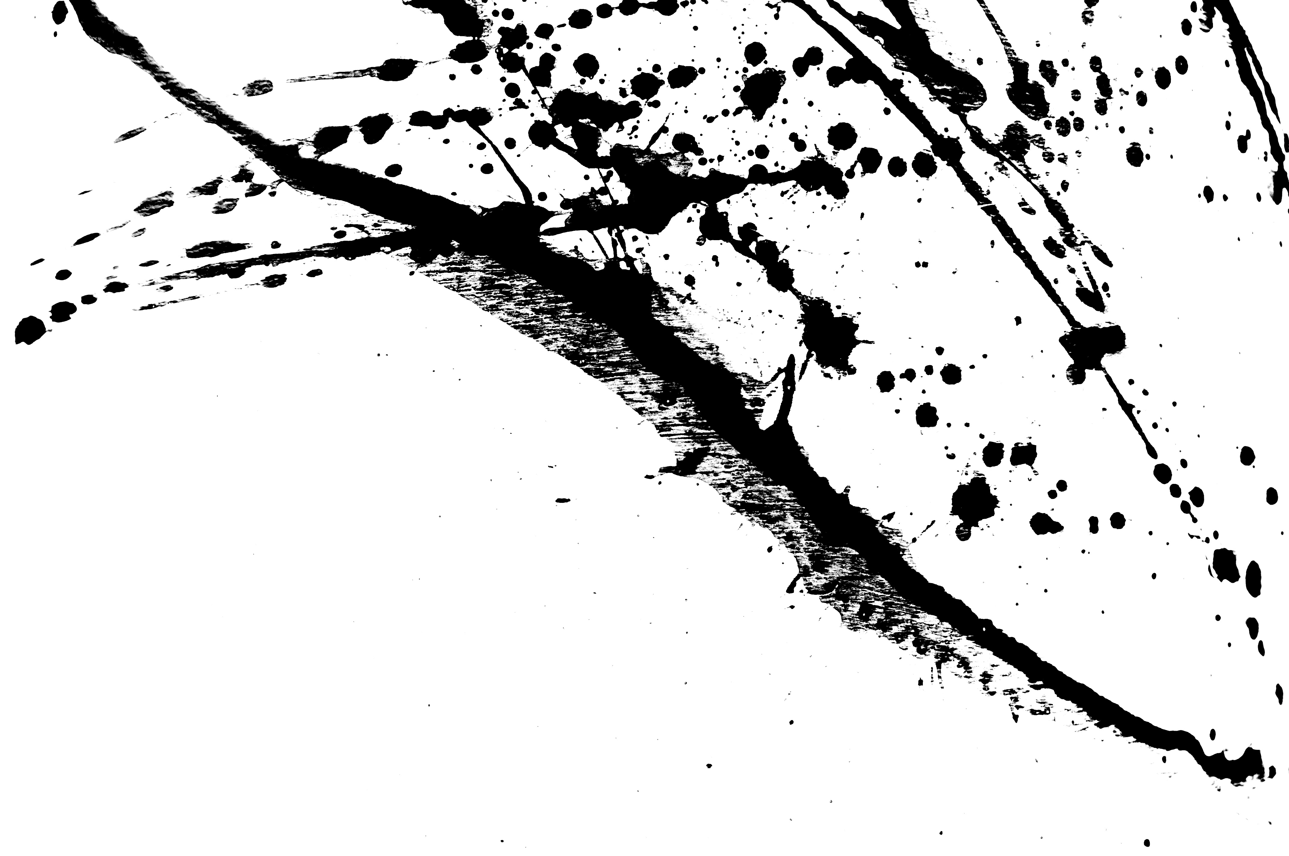 Black ink splatter photo