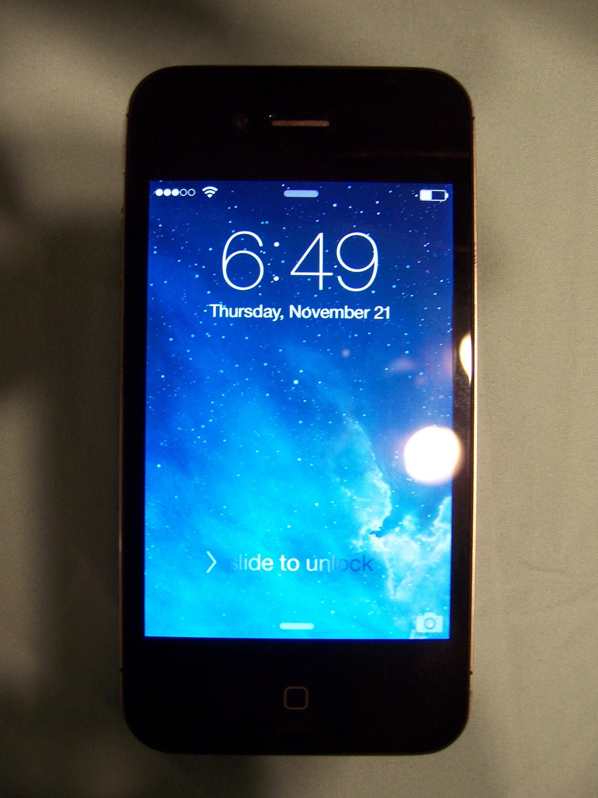 Apple iPhone 4 - 32GB - Black (Verizon) Smartphone - YouTube